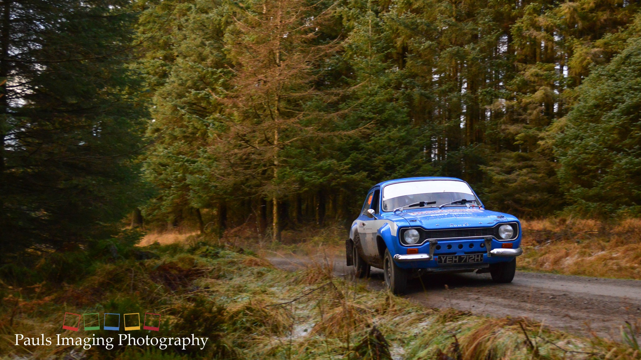 Grizedale Stages Rally 2016 - Ford Escort Mk1 Rally Car by PaulsImaging