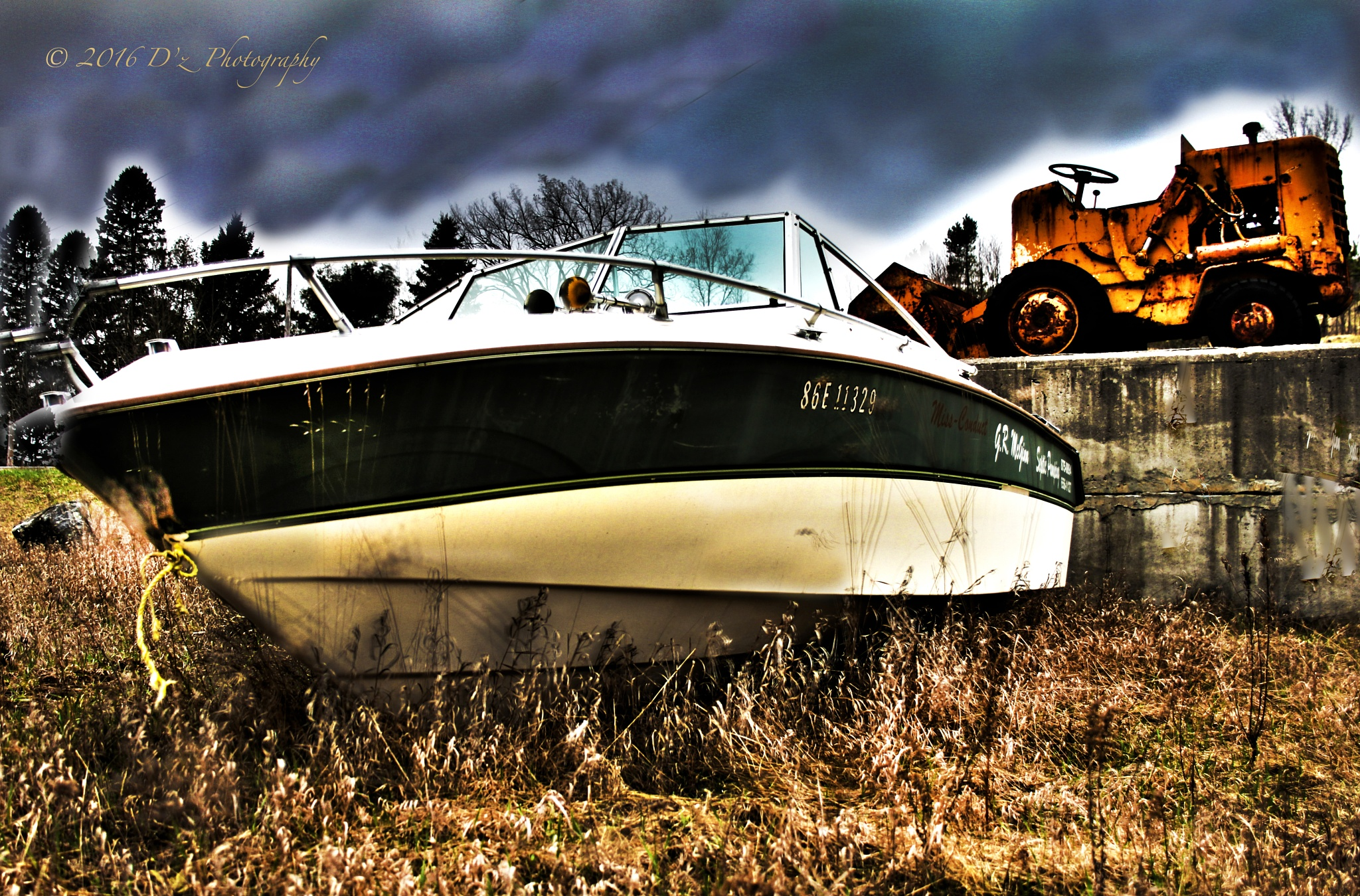 This is where the Boat Stops by Dz_Photography