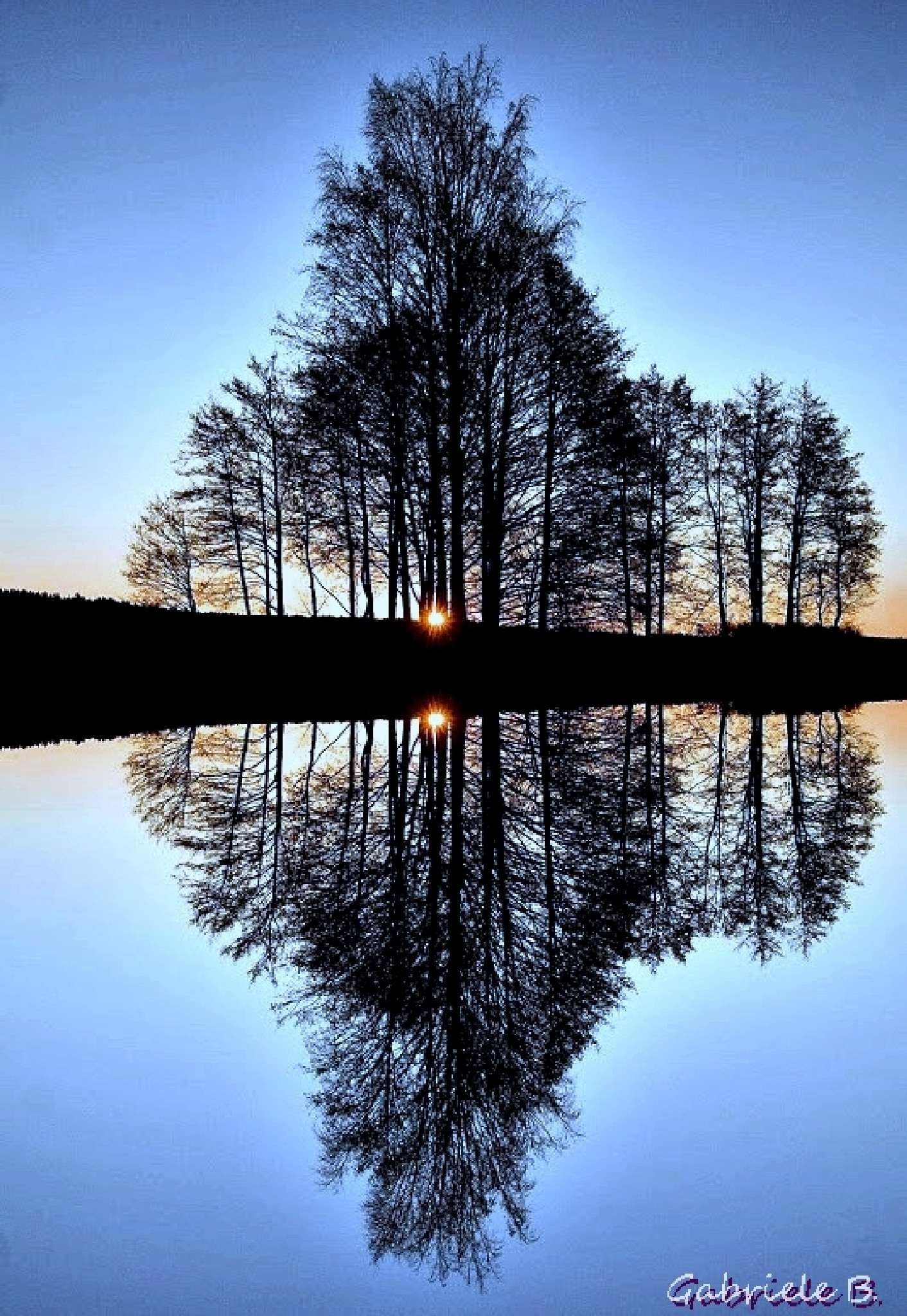 Mirror image by gabrielehelenebittner