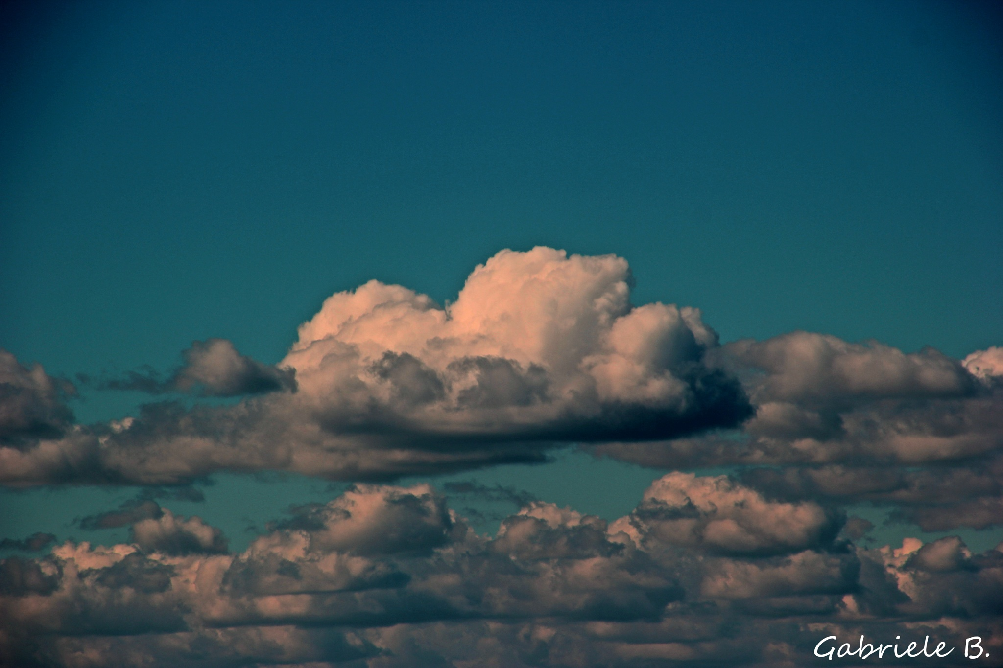 Clouds by gabrielehelenebittner