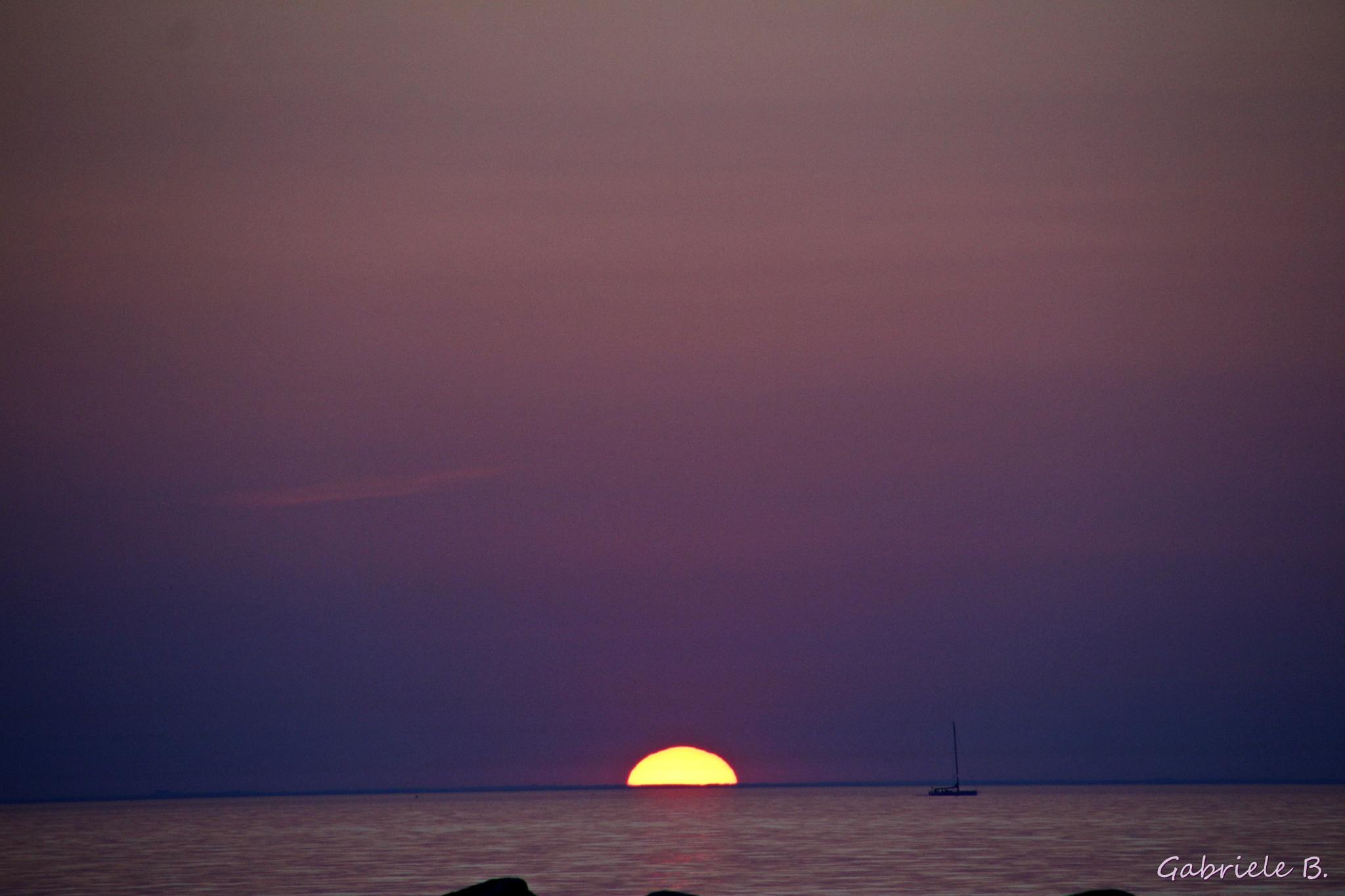 Sunset by gabrielehelenebittner