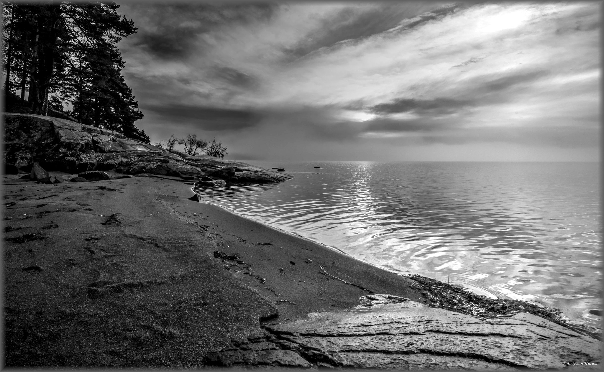 """""""On the beach"""" by Svein Hurum"""