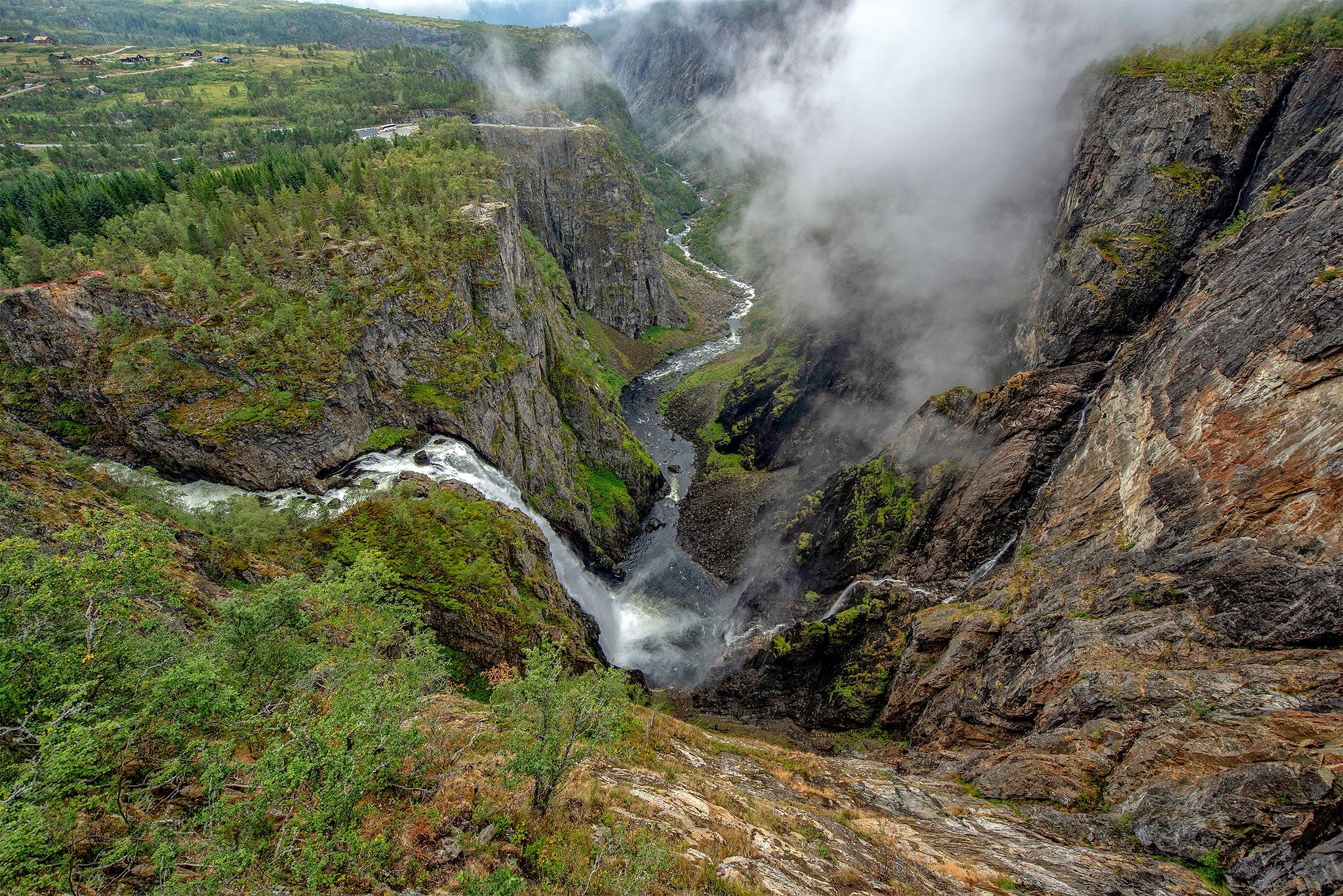 """Vøringsfossen"" by Svein Hurum"