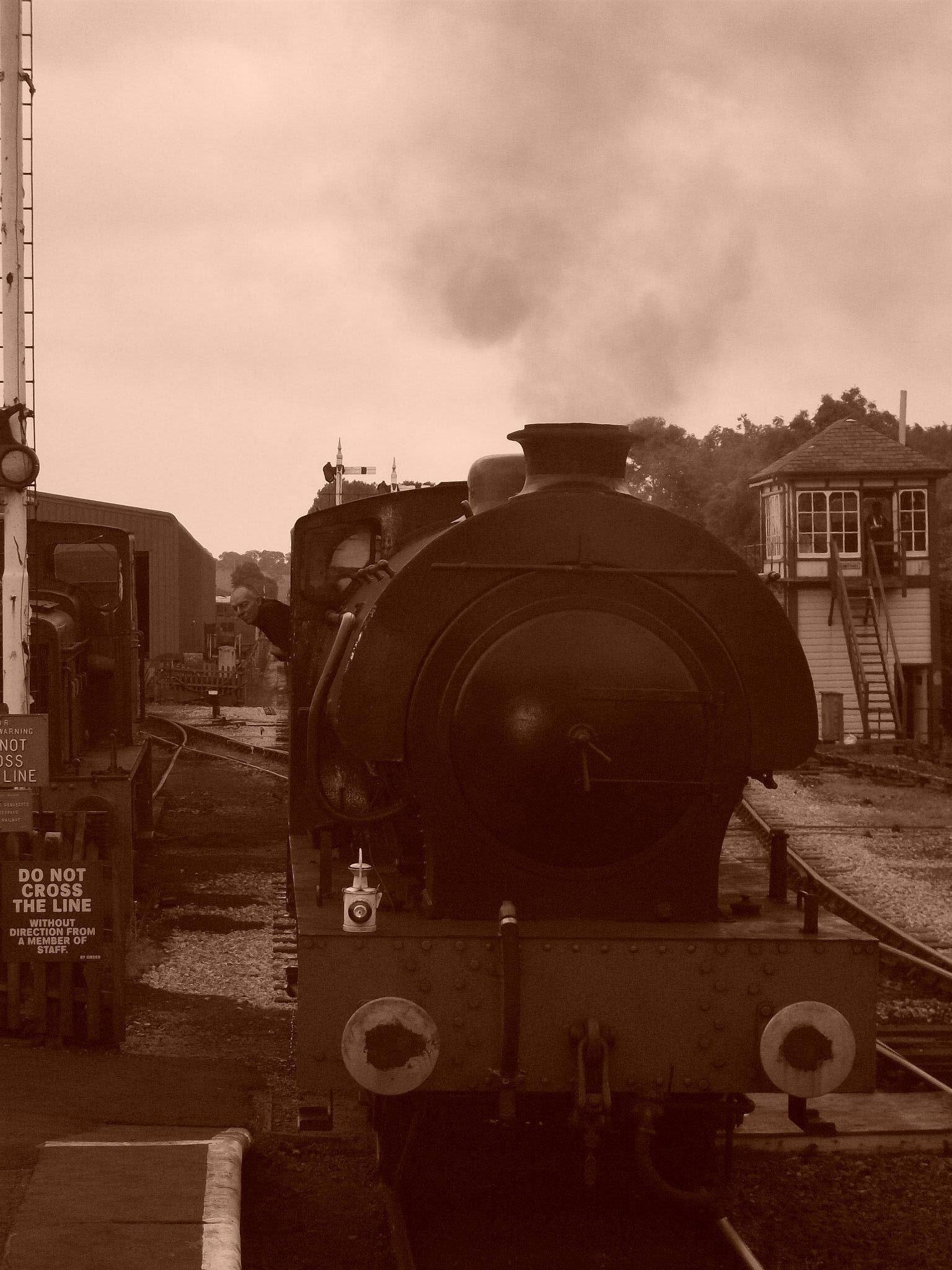 All aboard by Gillian Best