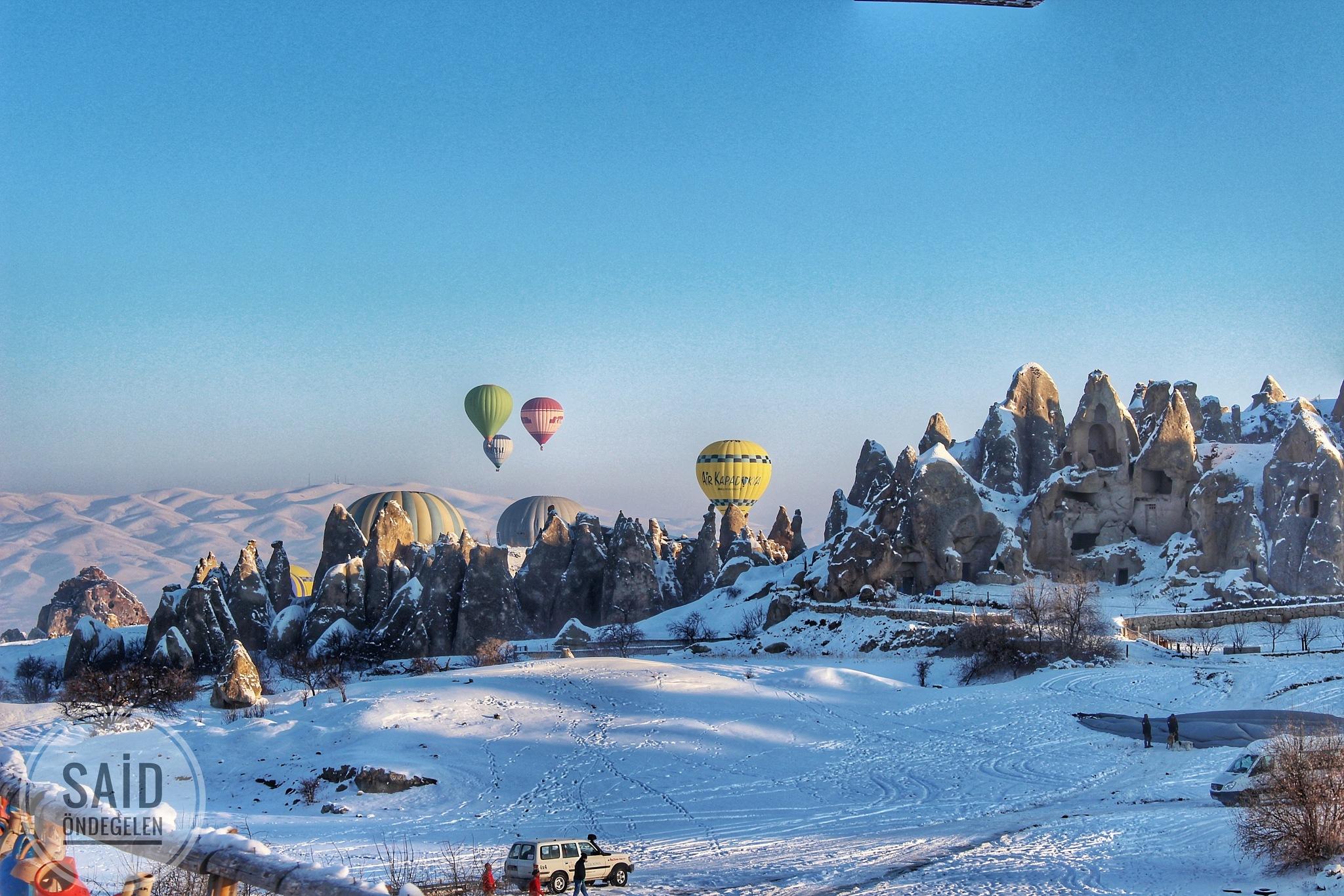 Cappadocia Ballons by saidondegelen