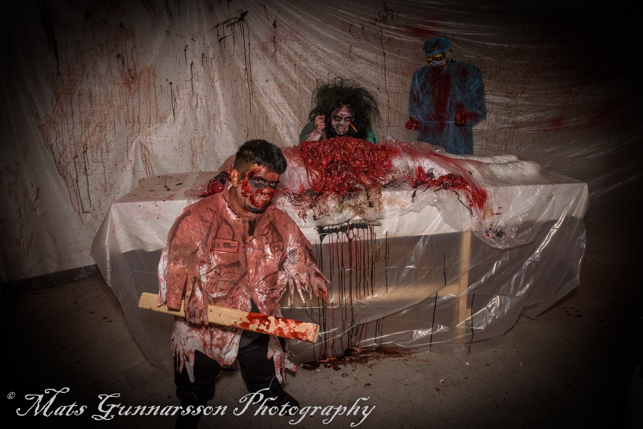 Zombie Haunted House, San Jose, CA by MatsGunnarssonPhotography