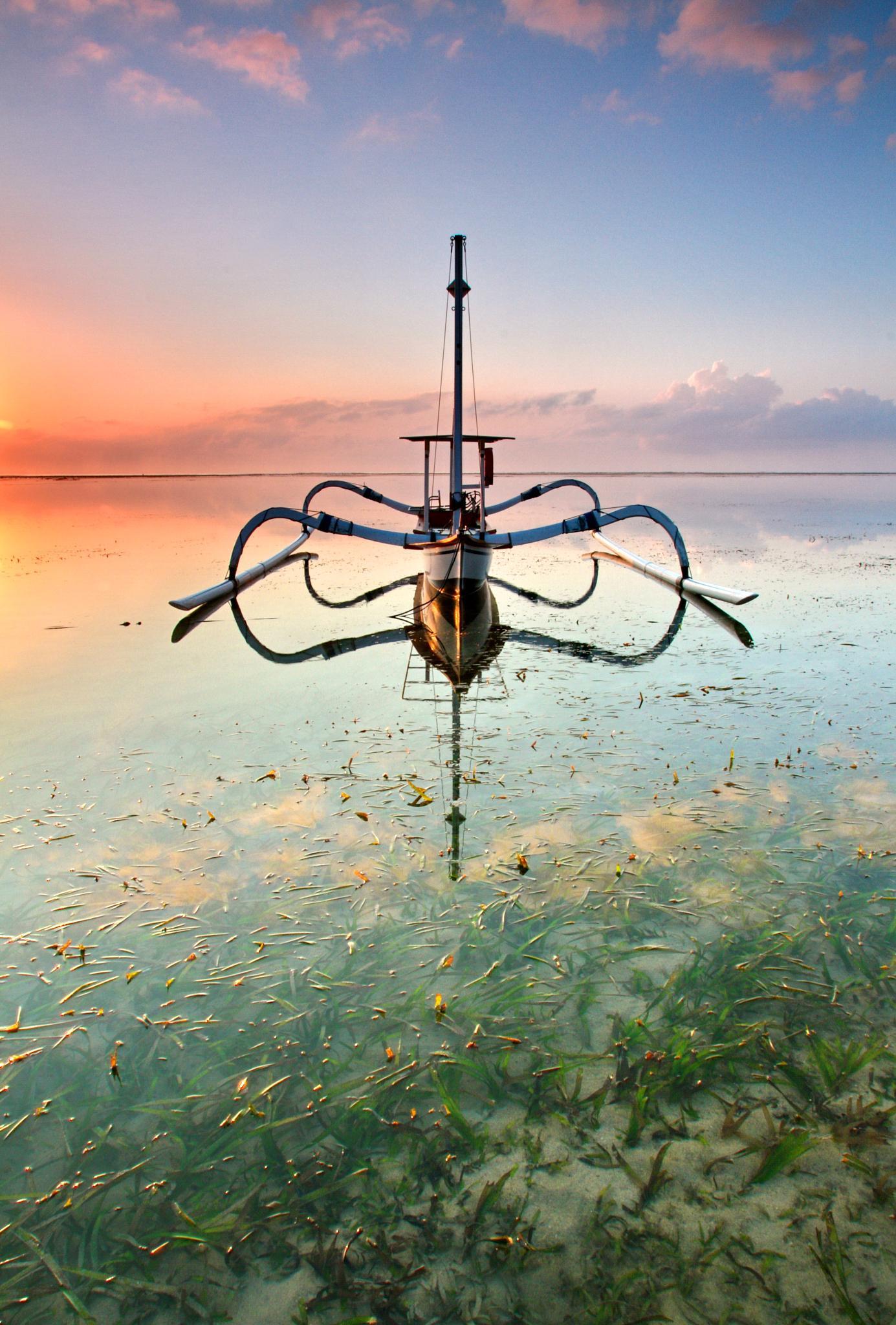 The Boat by Hendra Gunawan