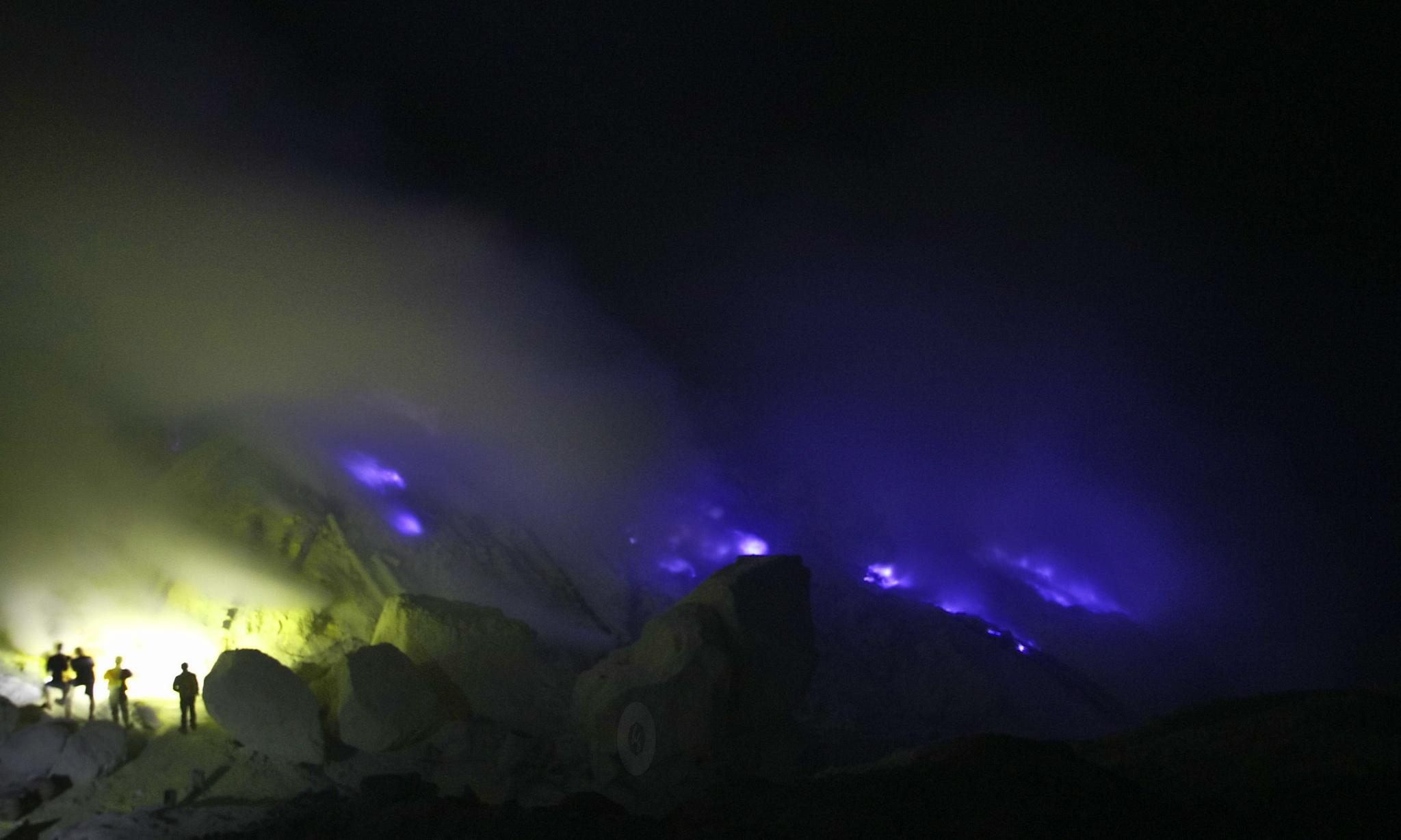 Blue Fire  by Hendra Gunawan