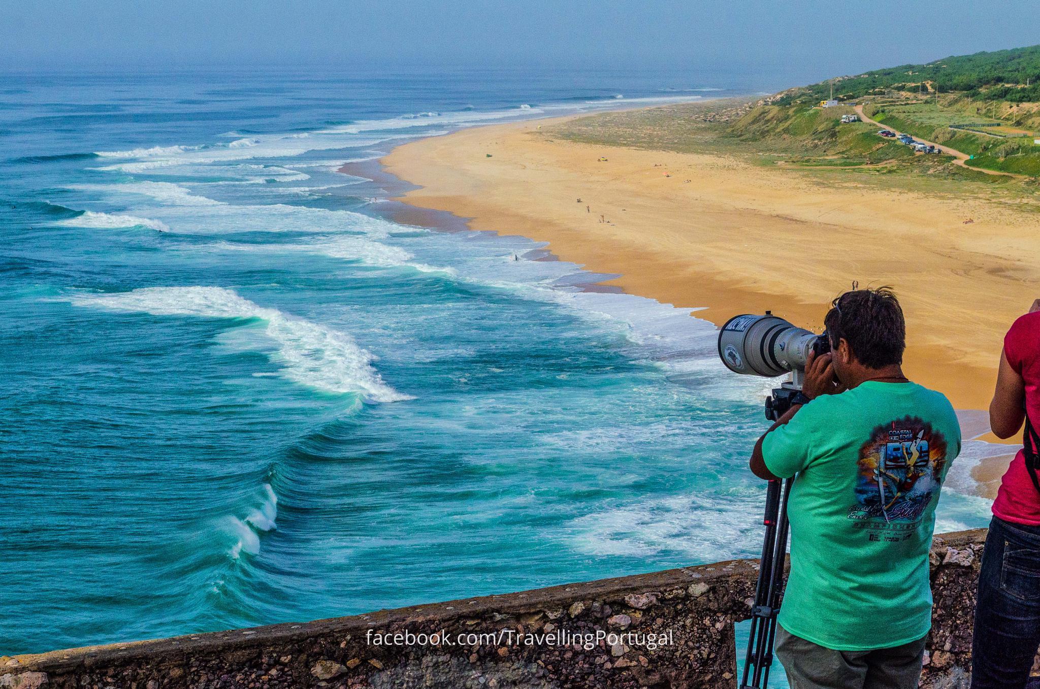 Photo in Landscape #nazare #surf #portugal #beach #praia #playa