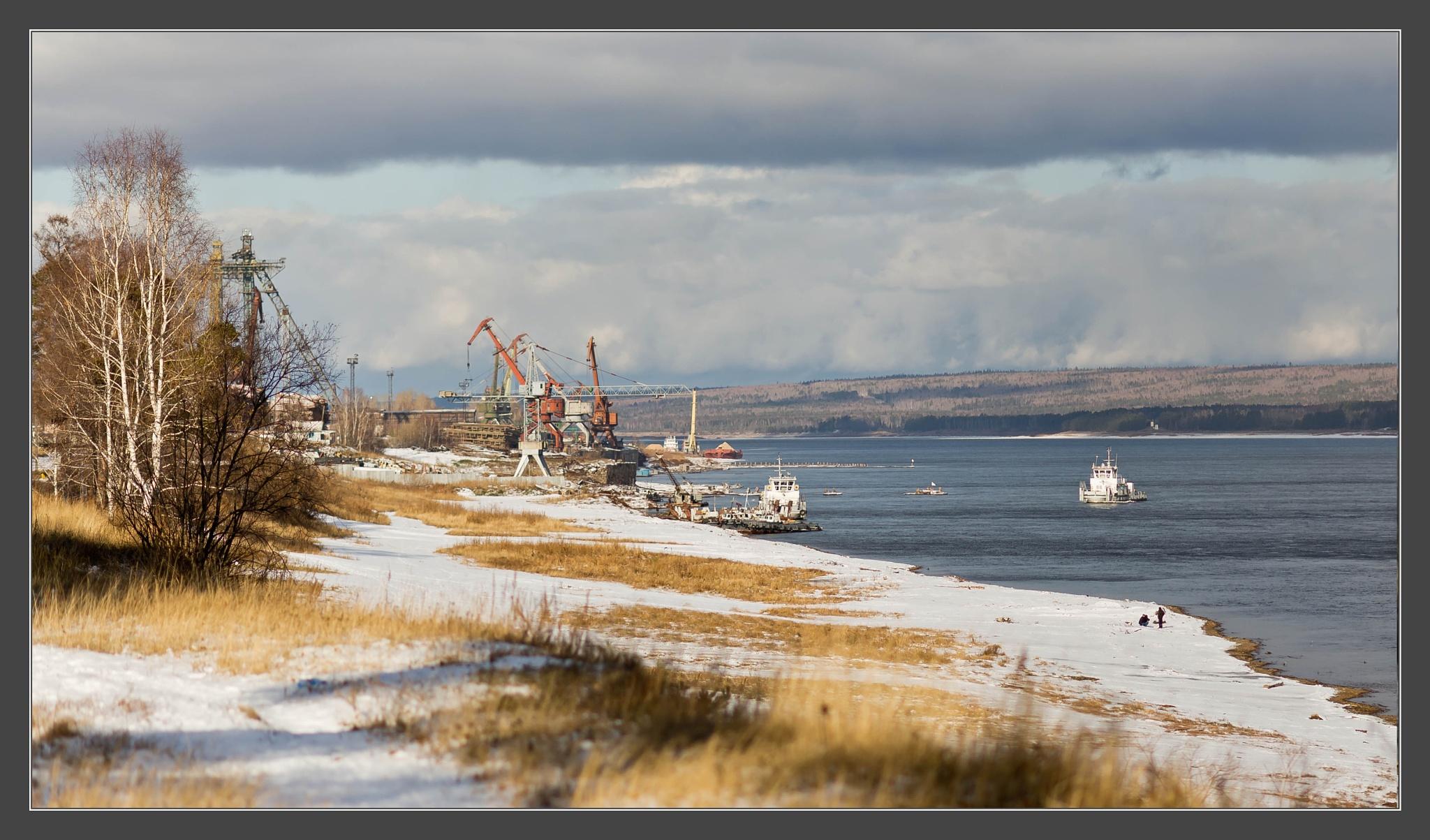 Lesosibirsk, port LDK#1 by antiz