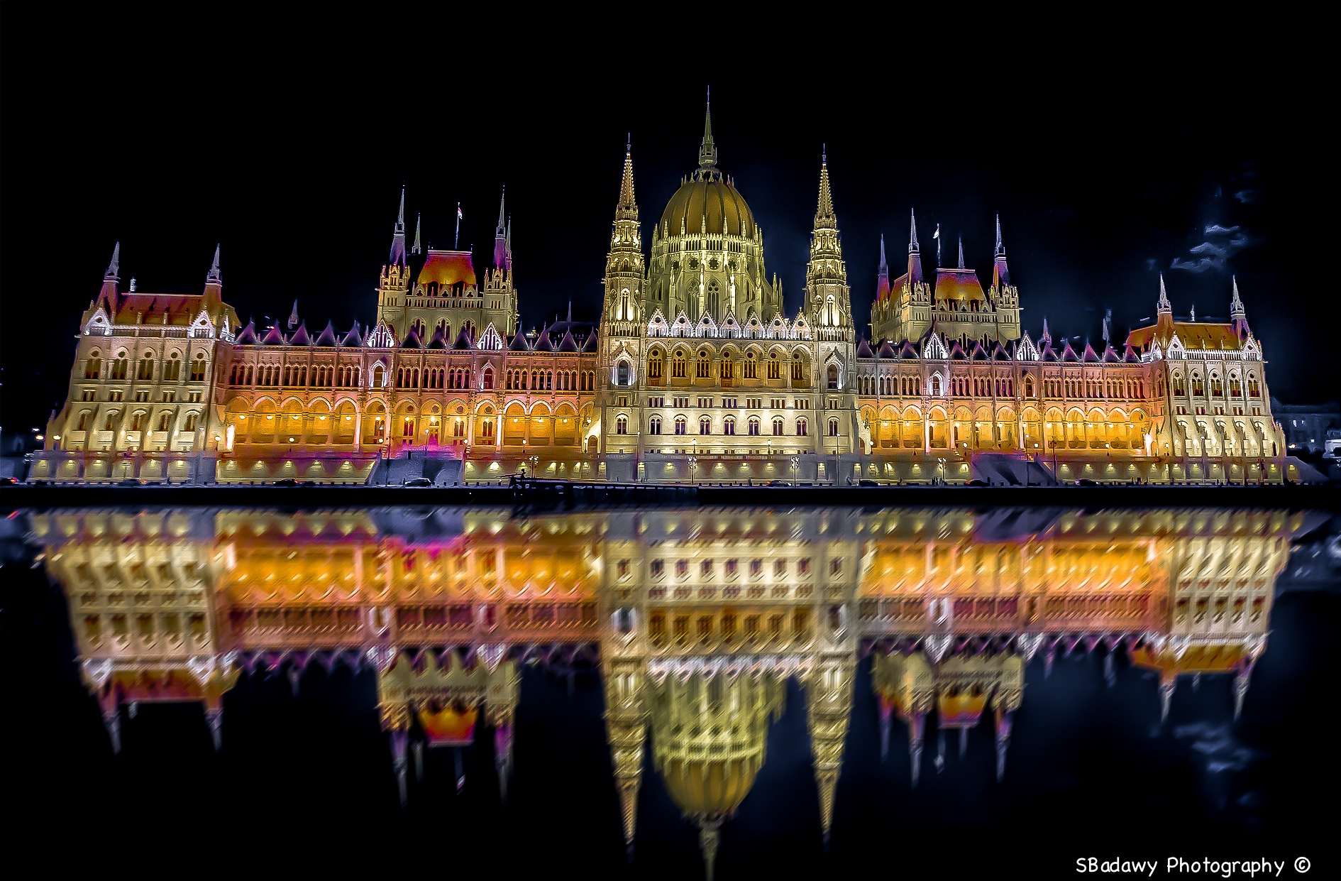 Hungarian Parliament Building by Sherif Badawy