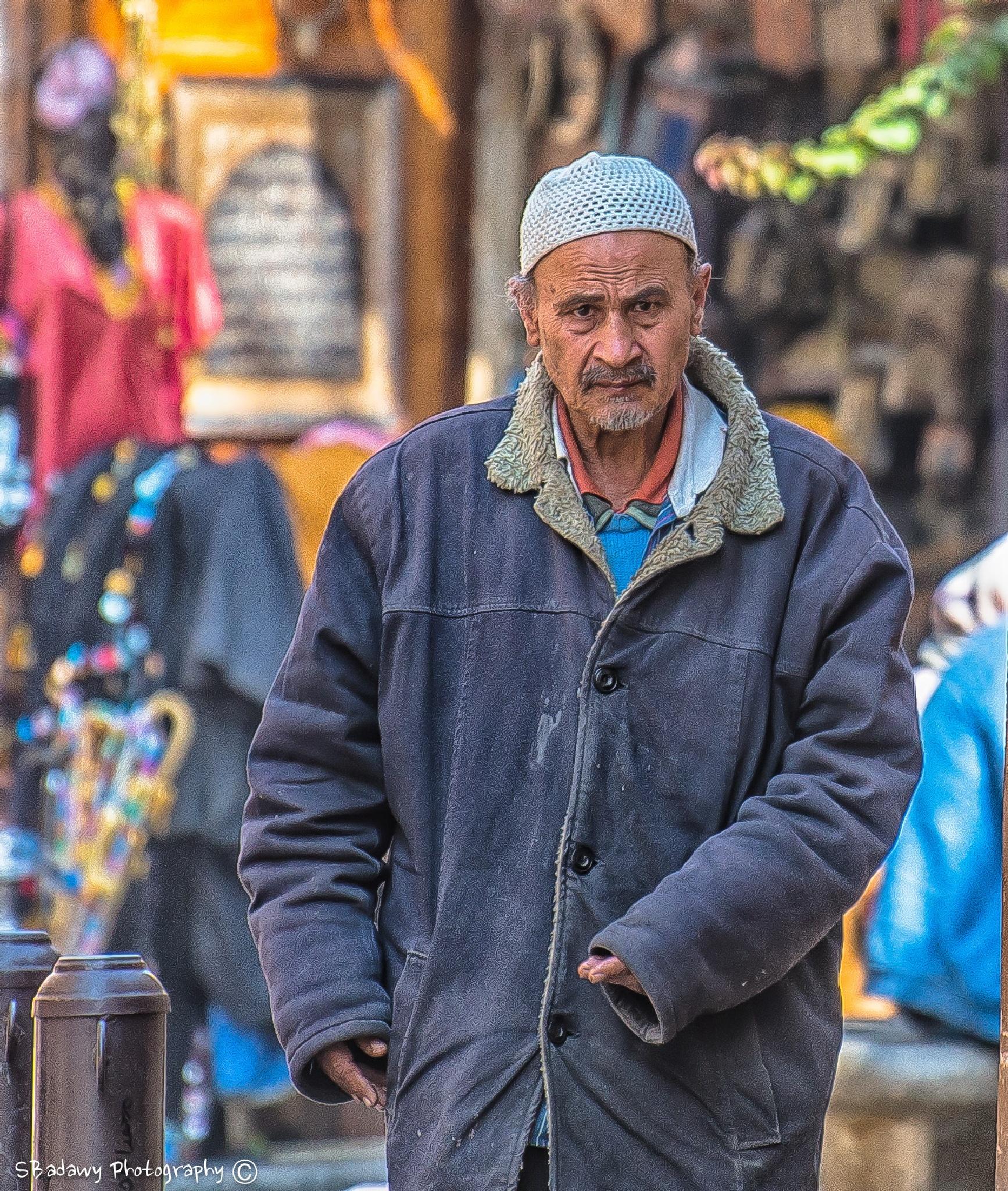 Old Man  by Sherif Badawy