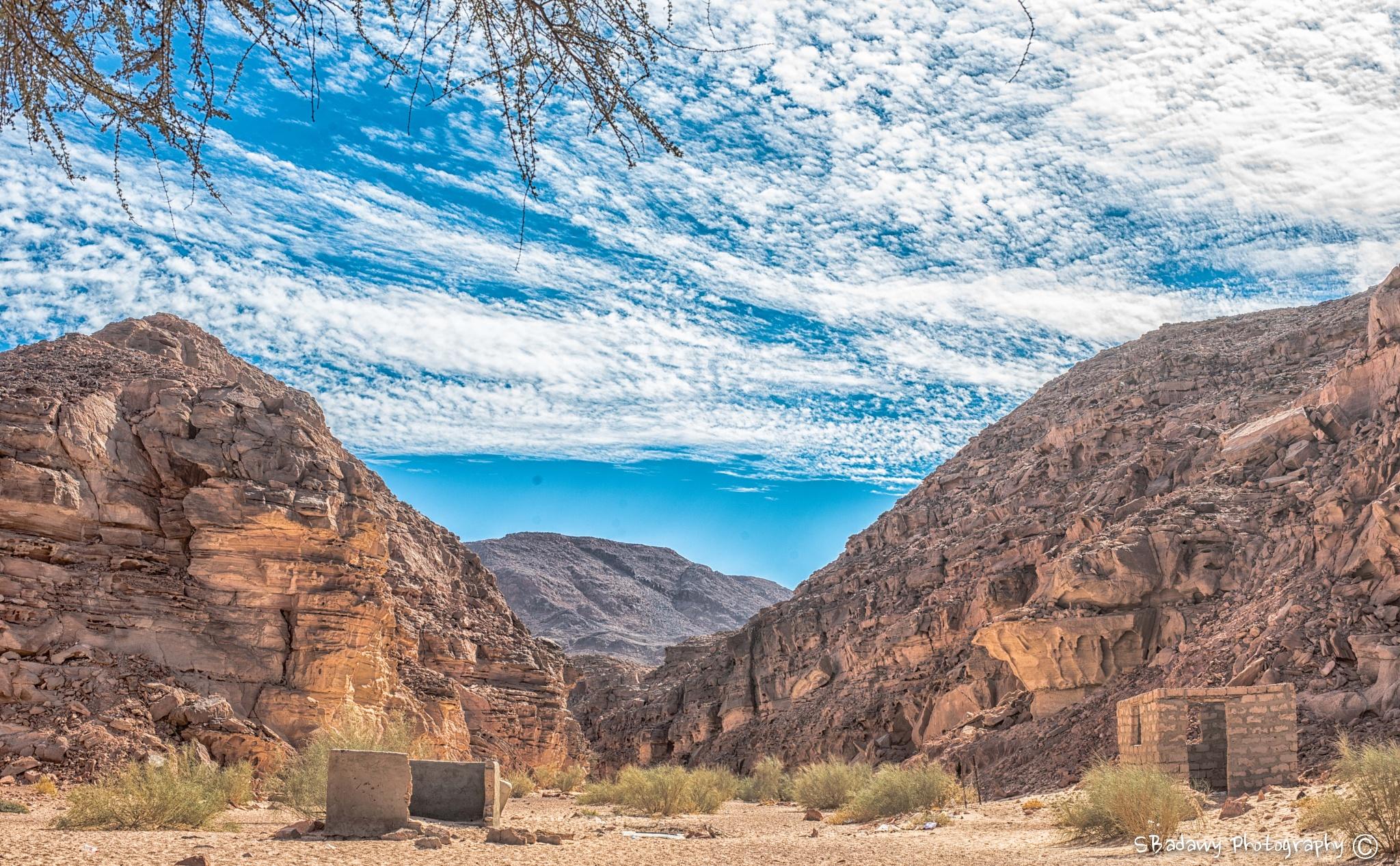 Canyon - Dahab  by Sherif Badawy