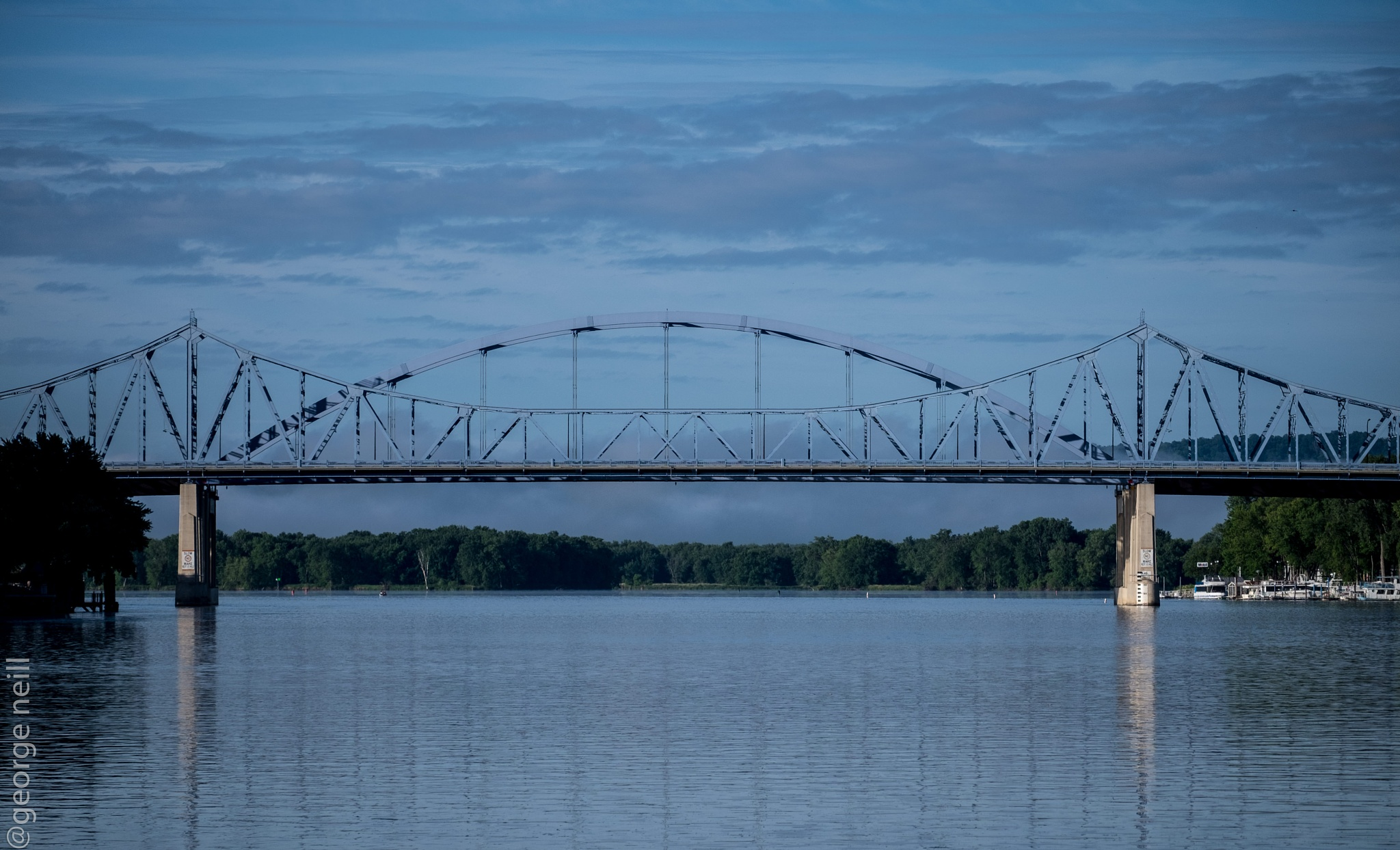 Bridges over the Mississippi River by George Neill