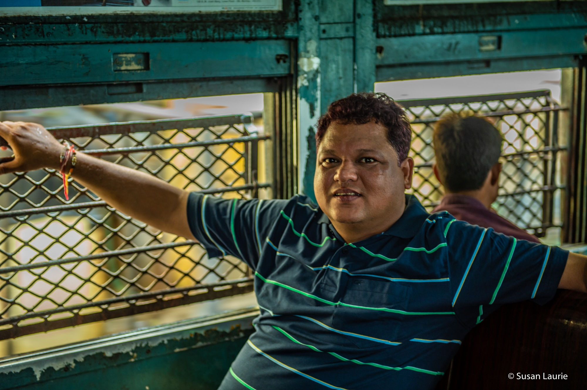 Mumbai Trains by Susan Laurie
