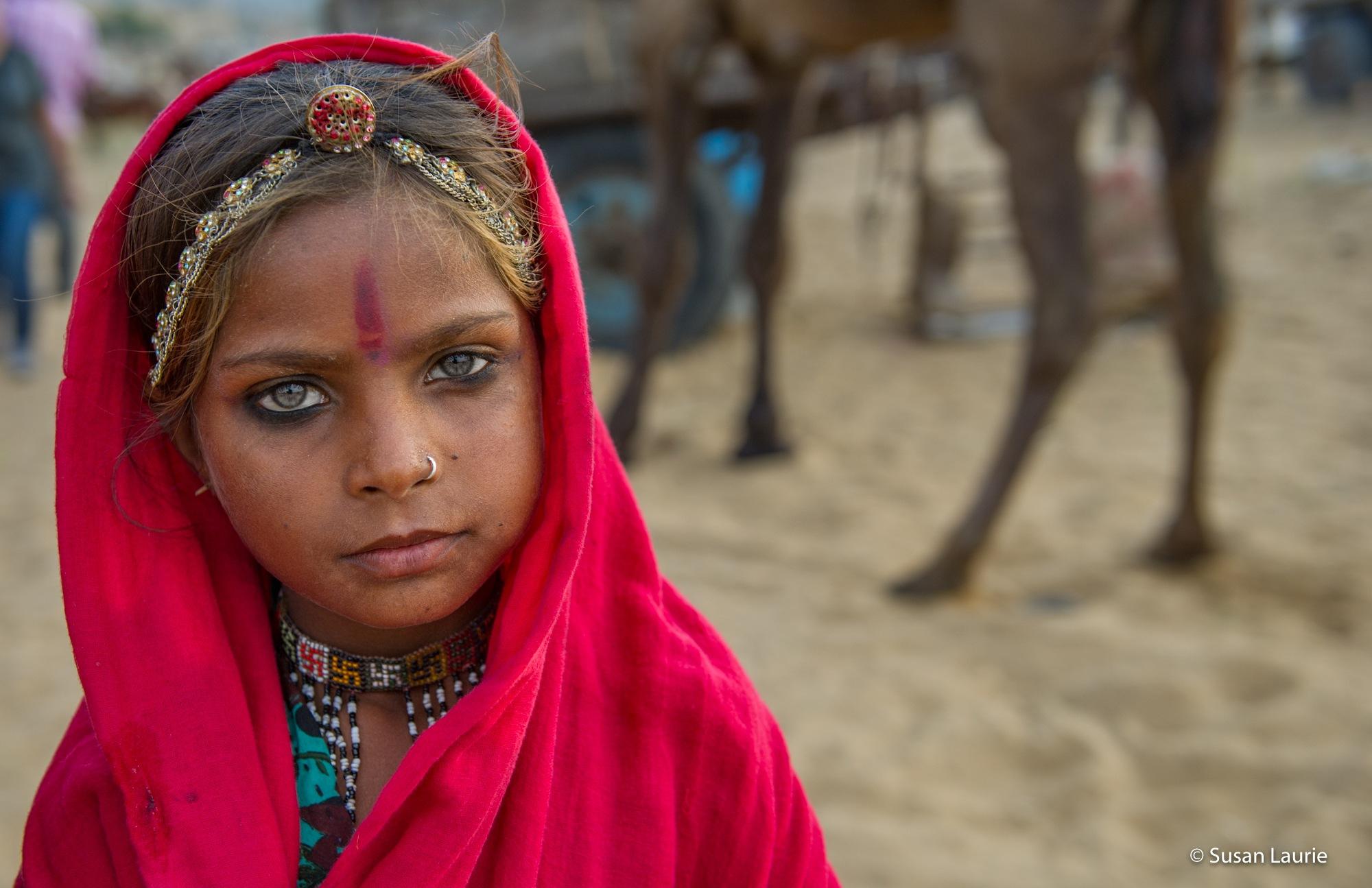 Pushkar India Portraits by Susan Laurie