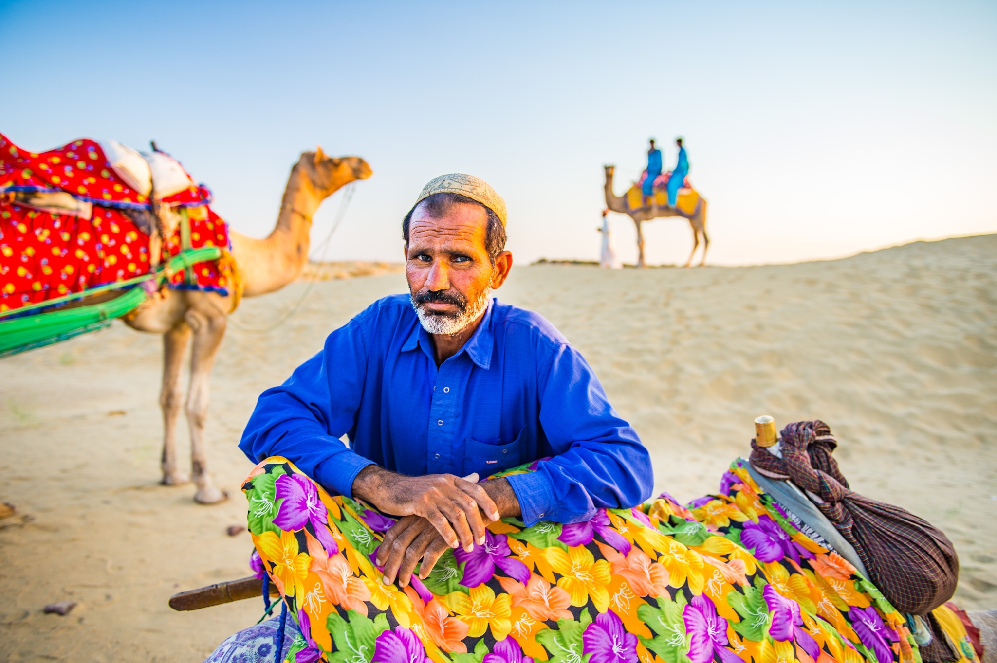Jaisalmer Camel Ride by Susan Laurie