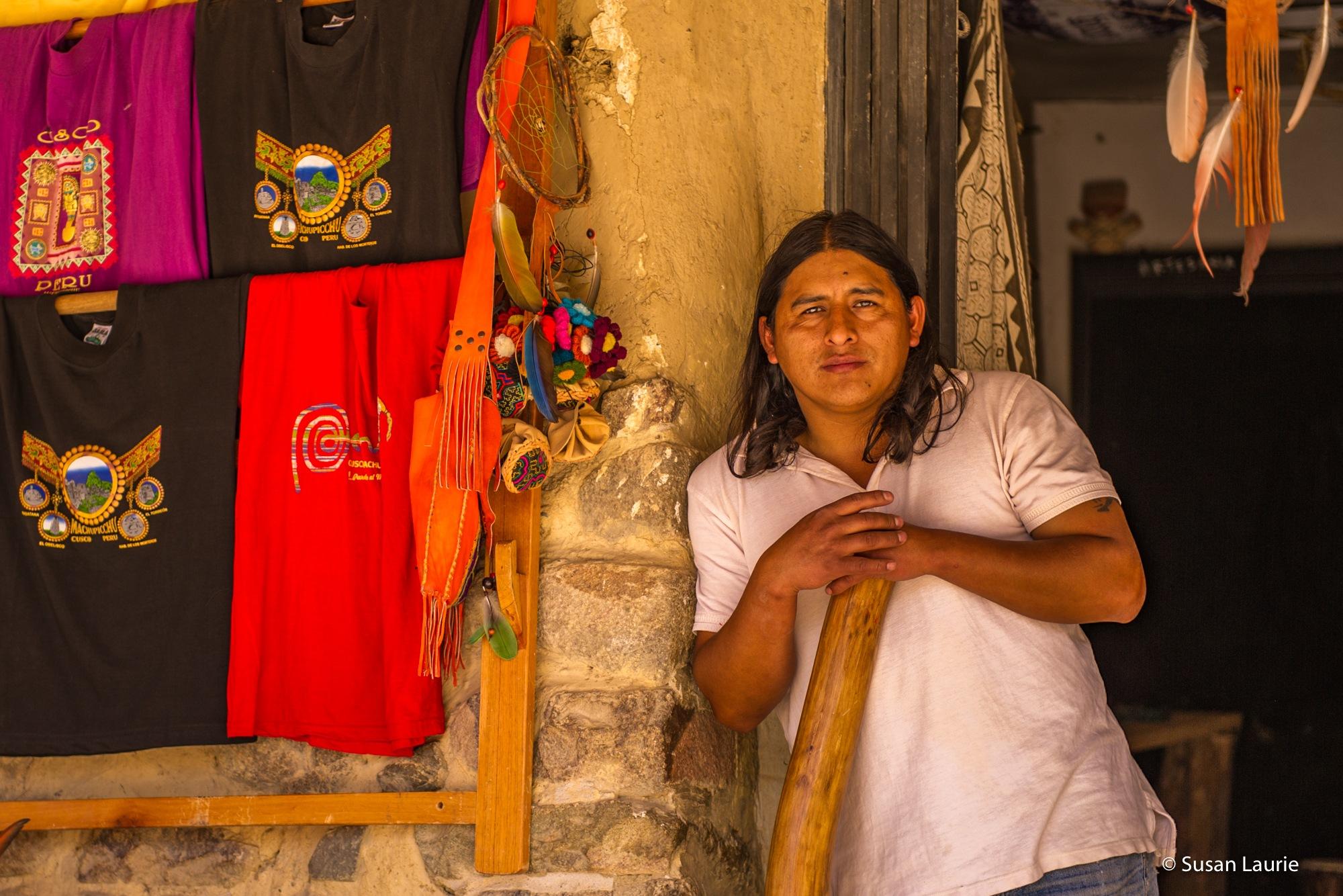 Peru Portraits by Susan Laurie