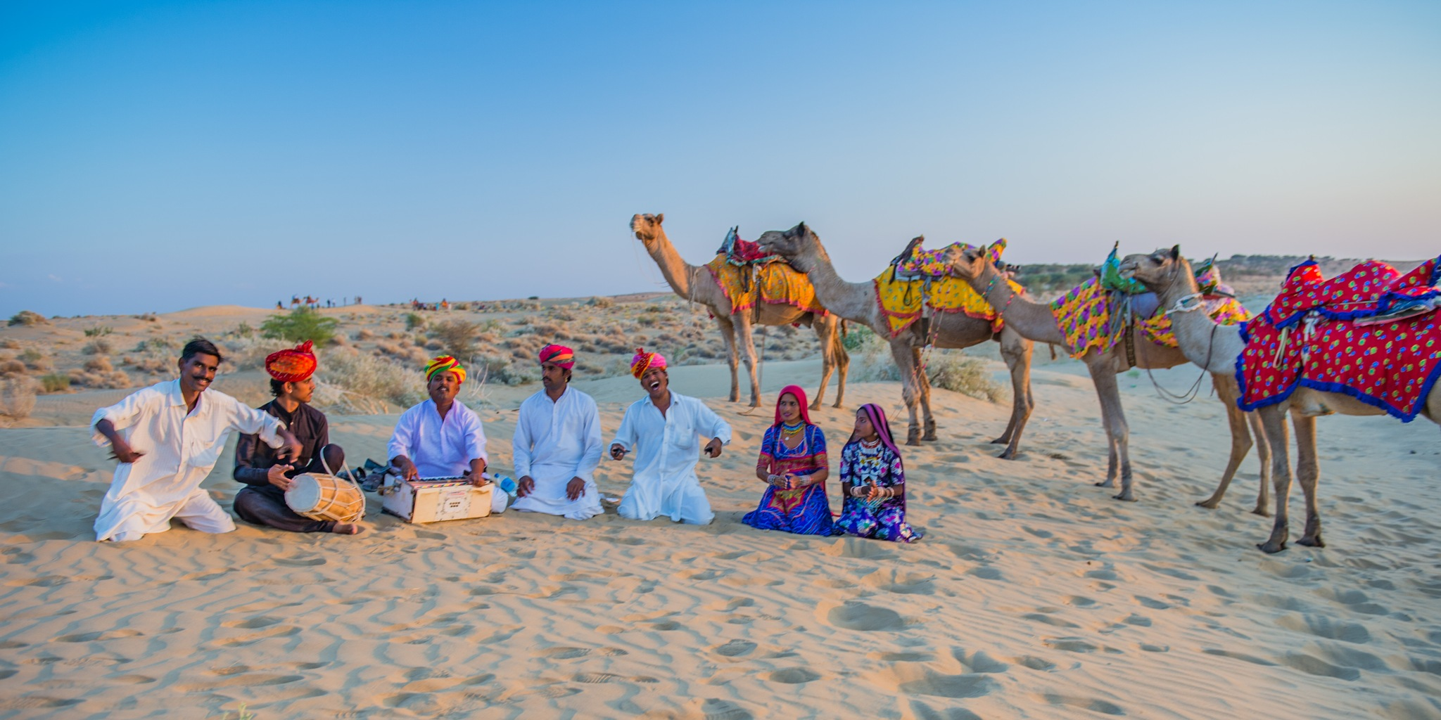 Jaisalmer Camal Ride by Susan Laurie