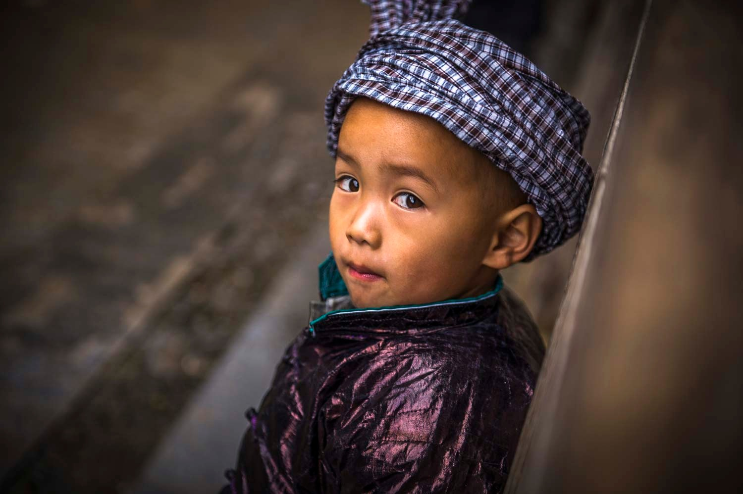 Chineese Boy by Susan Laurie