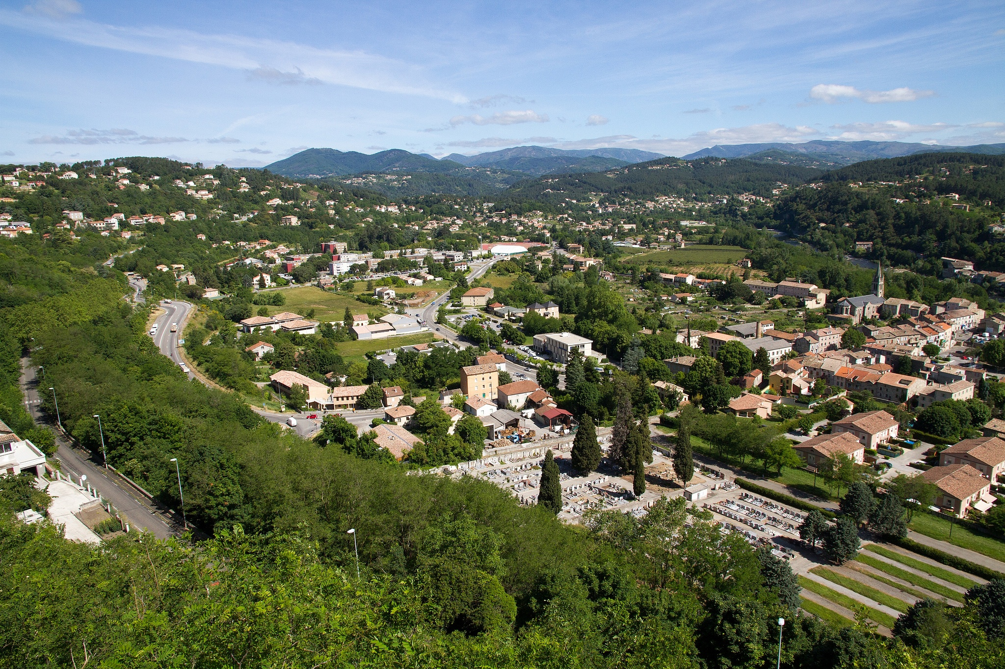 Countryside Ardeche by Fred Mellink