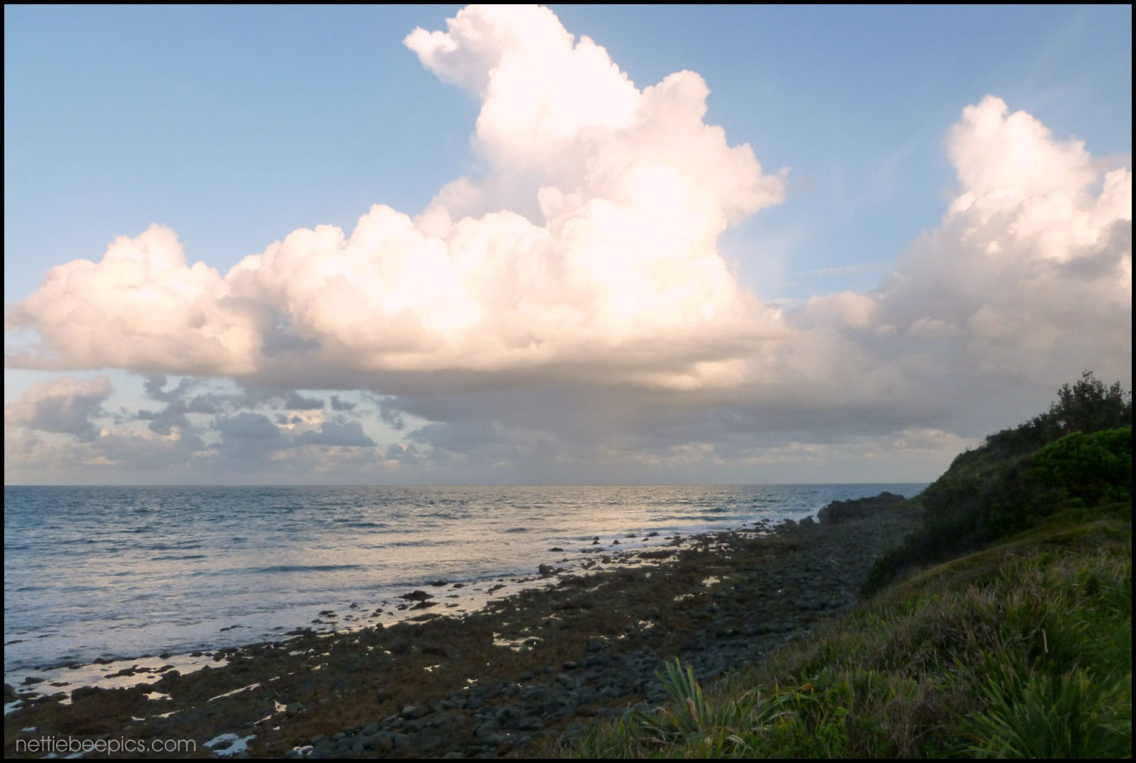 Clouds and Sea by Nettie Bee