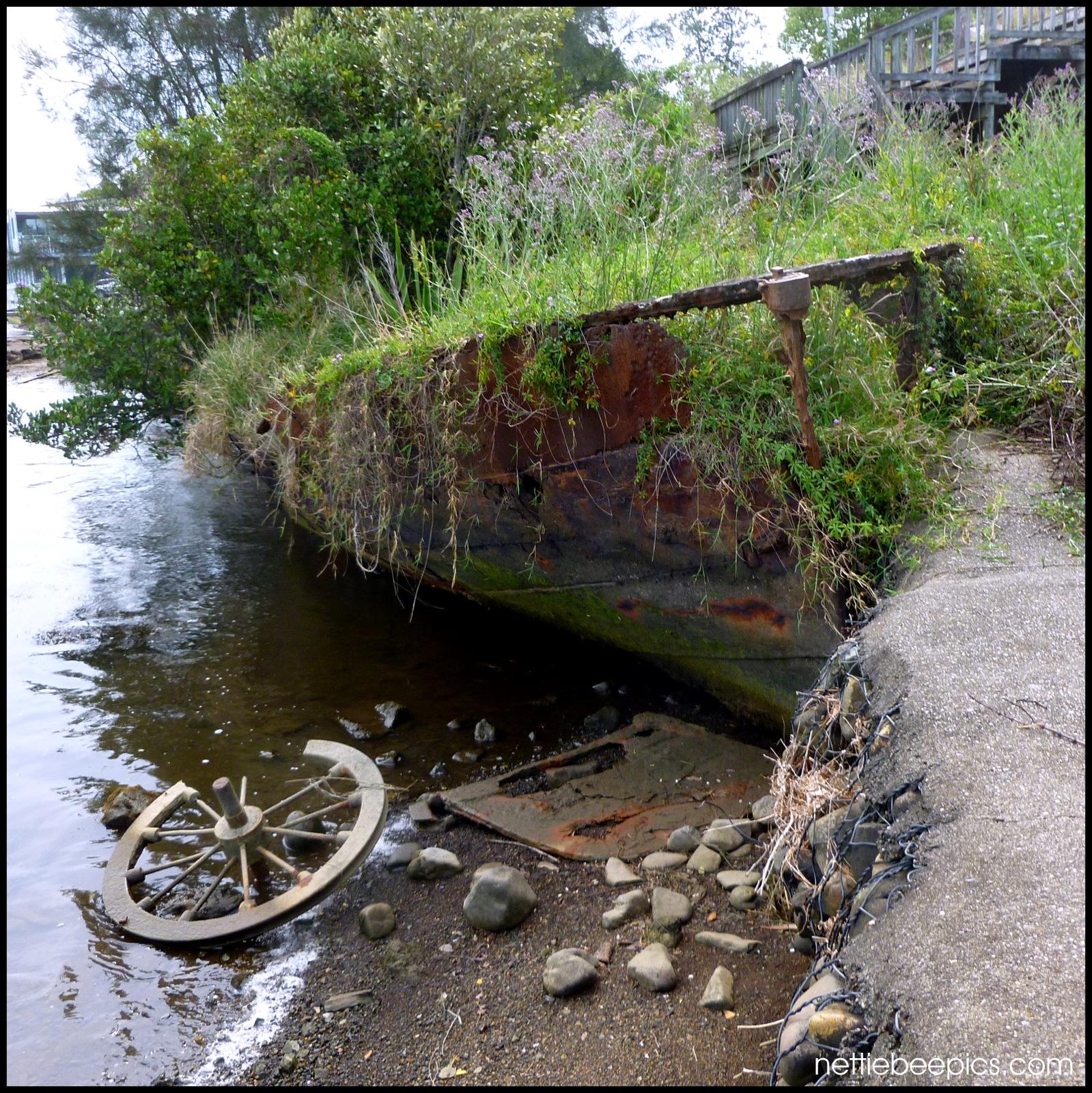 Seen Better Days... Leaky Boat by Nettie Bee