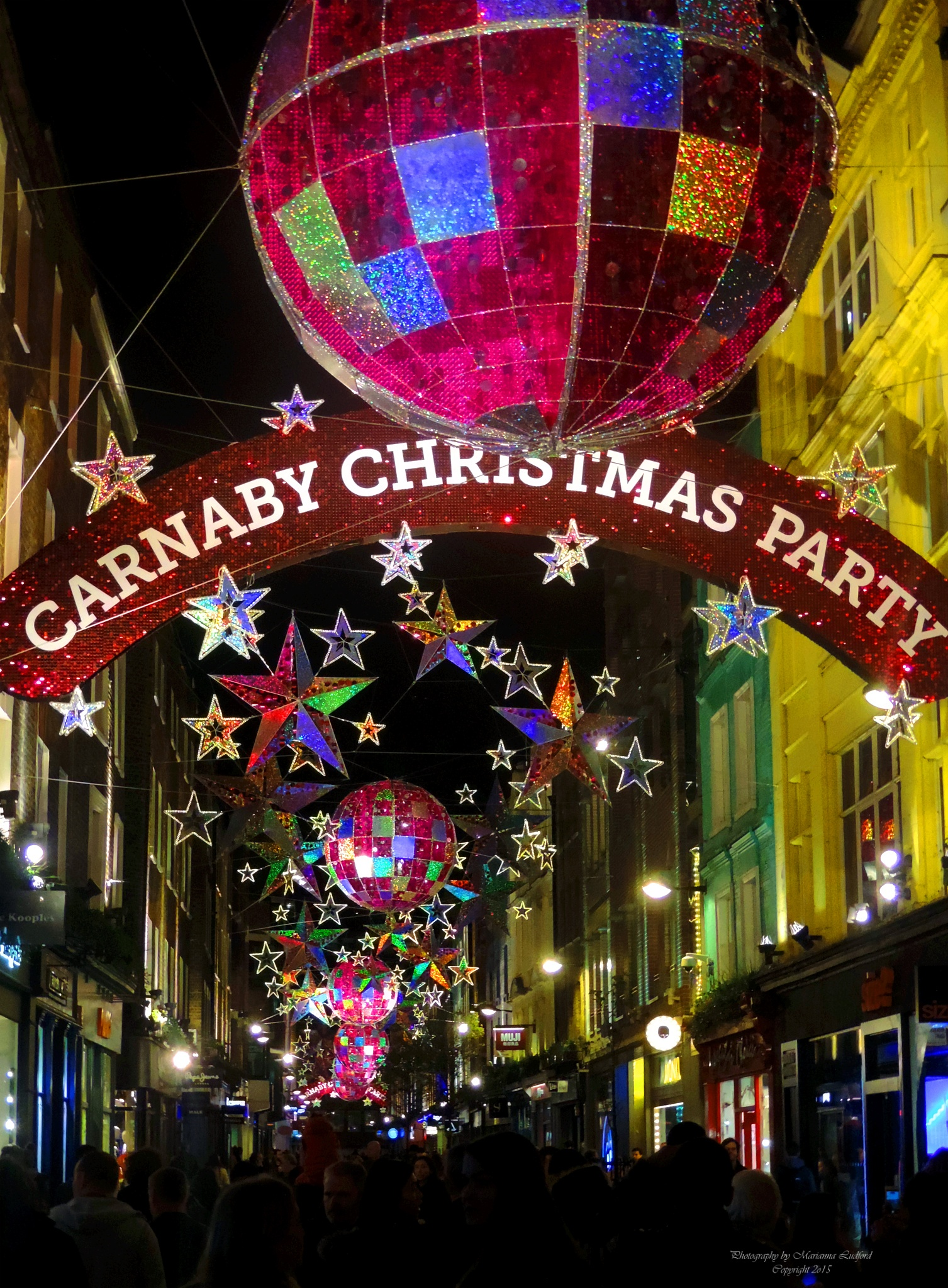 CARNABY CHRISTMAS PARTY by marinna67