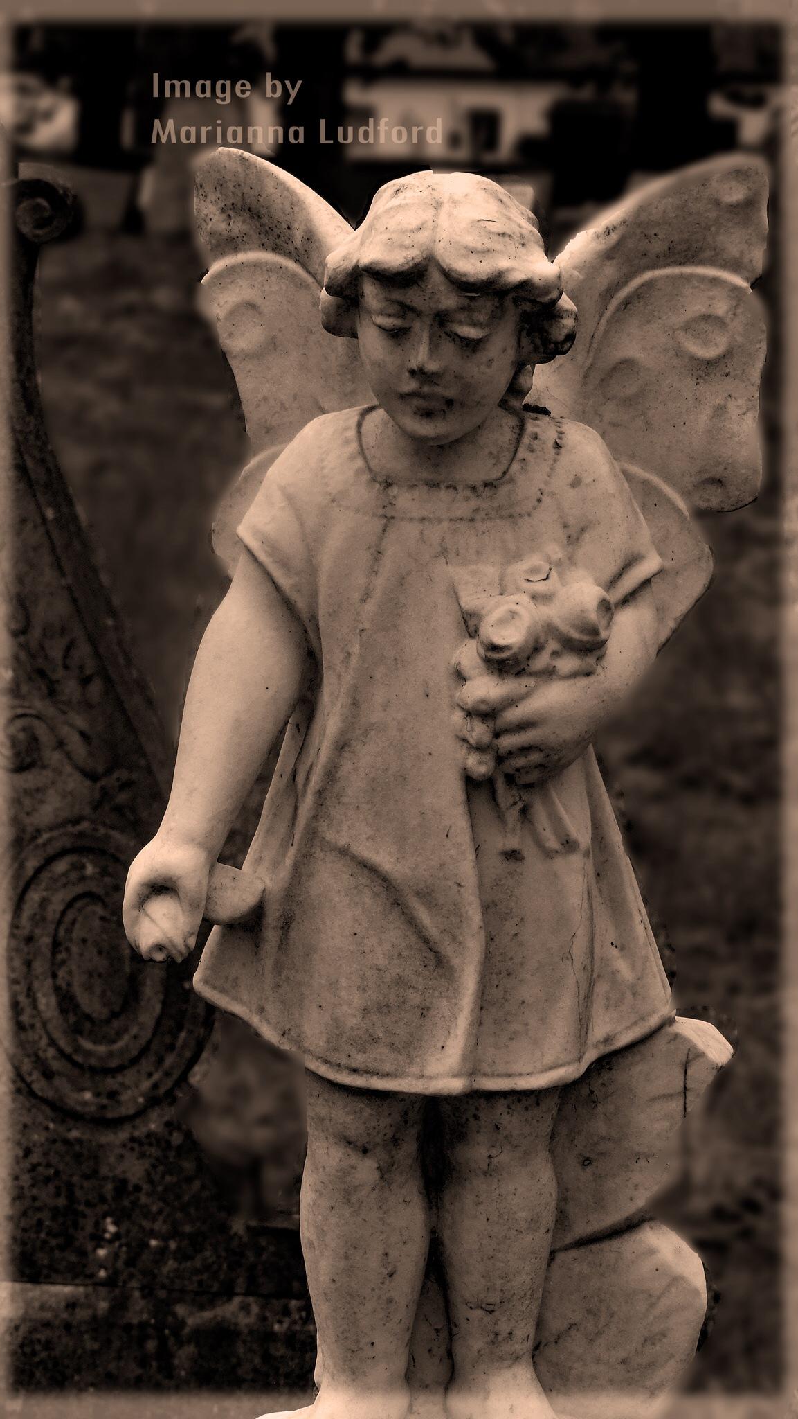 ANGEL-CHILD  by marinna67