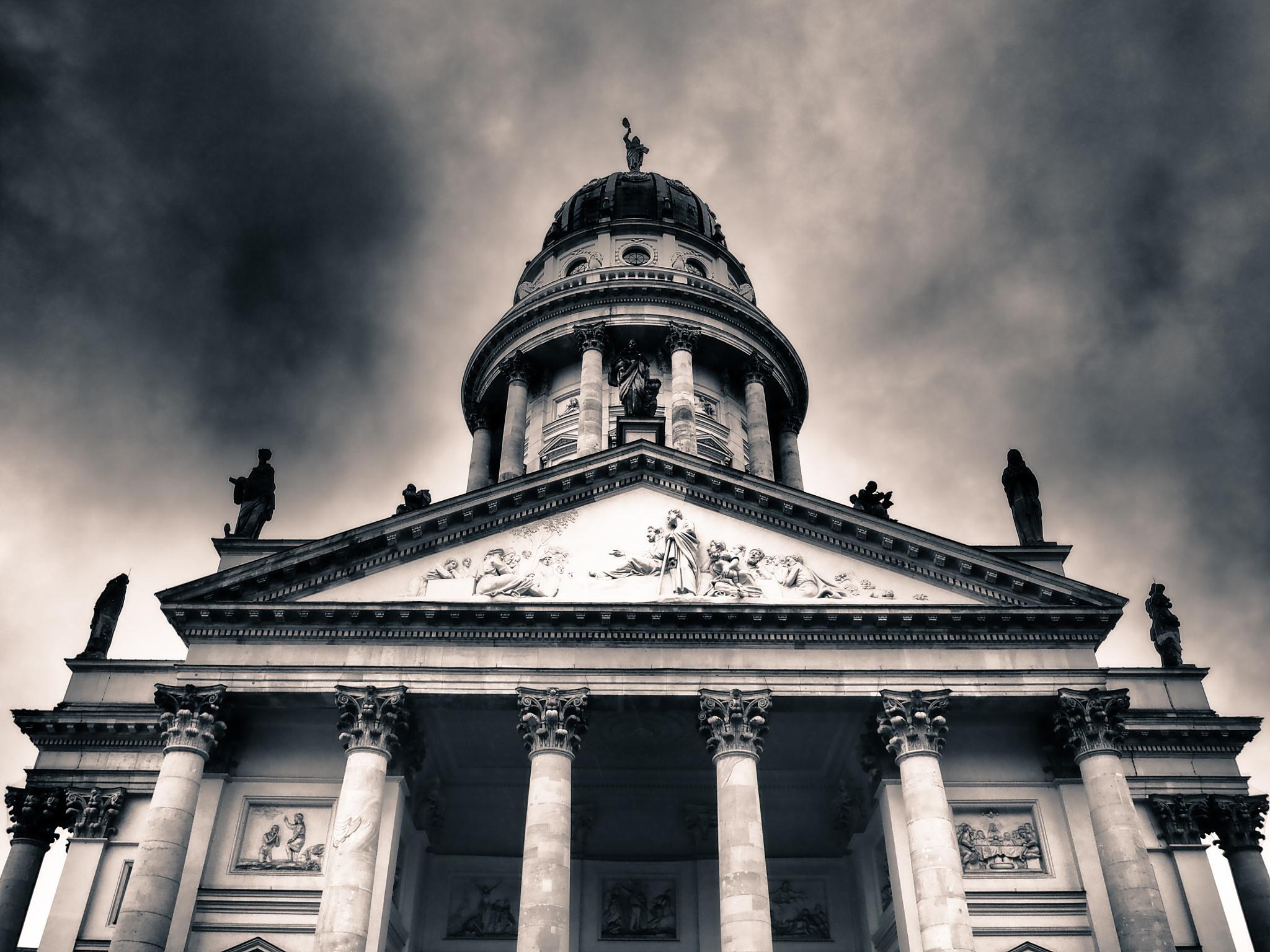 Berlin France Dom Black & White by Jeans Brown Photography / Jens Schwarz