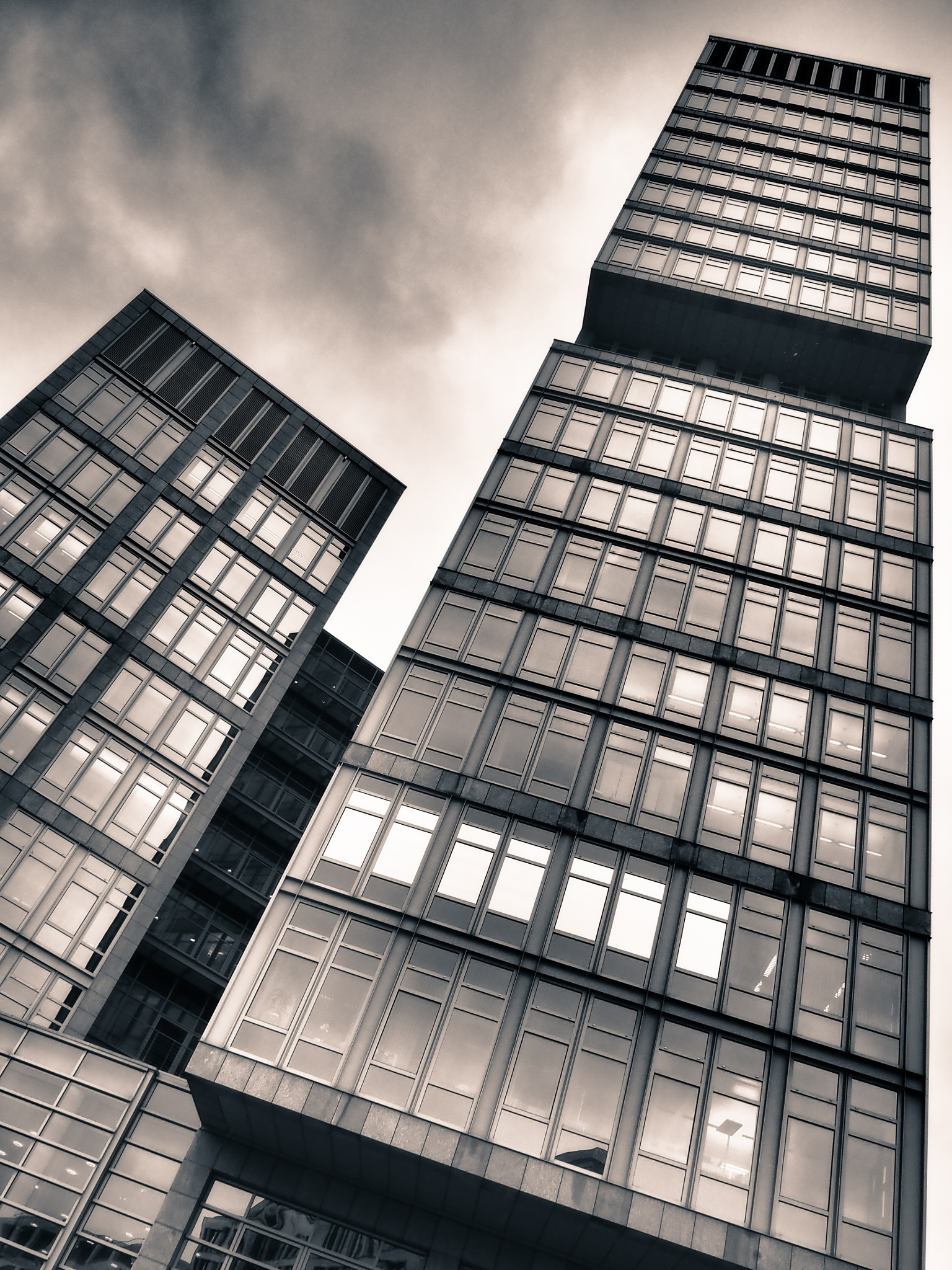 Berlin Building Black & White by Jeans Brown Photography / Jens Schwarz