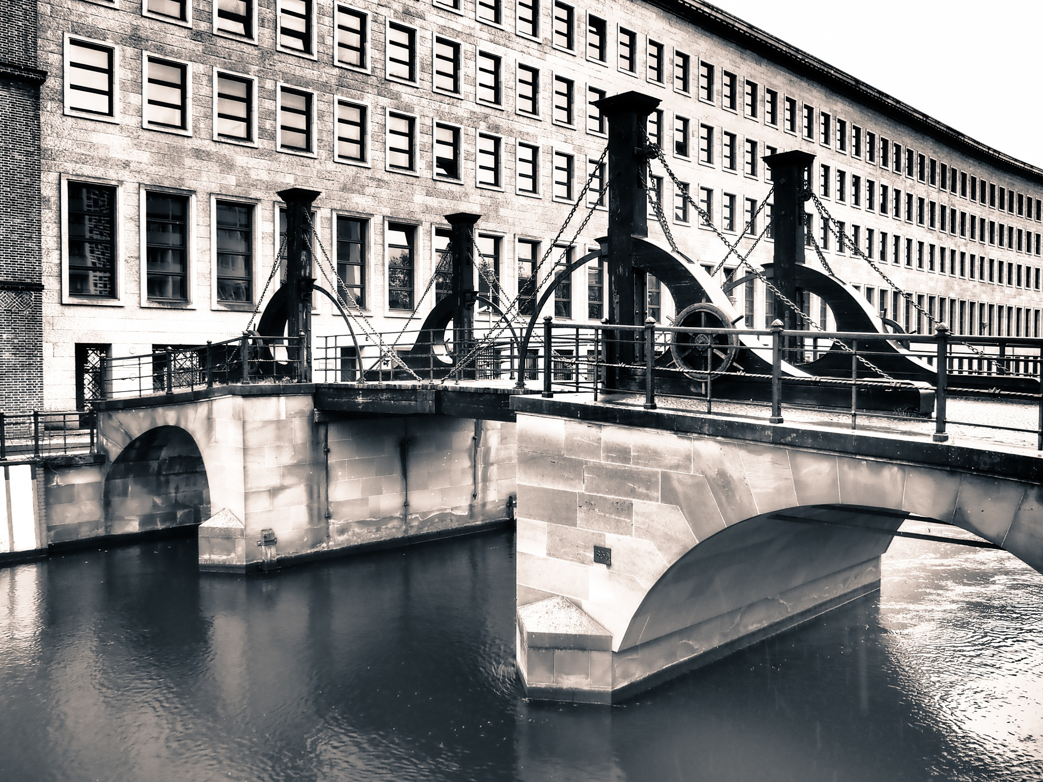 Berlin Bridge Black & White  by Jeans Brown Photography / Jens Schwarz