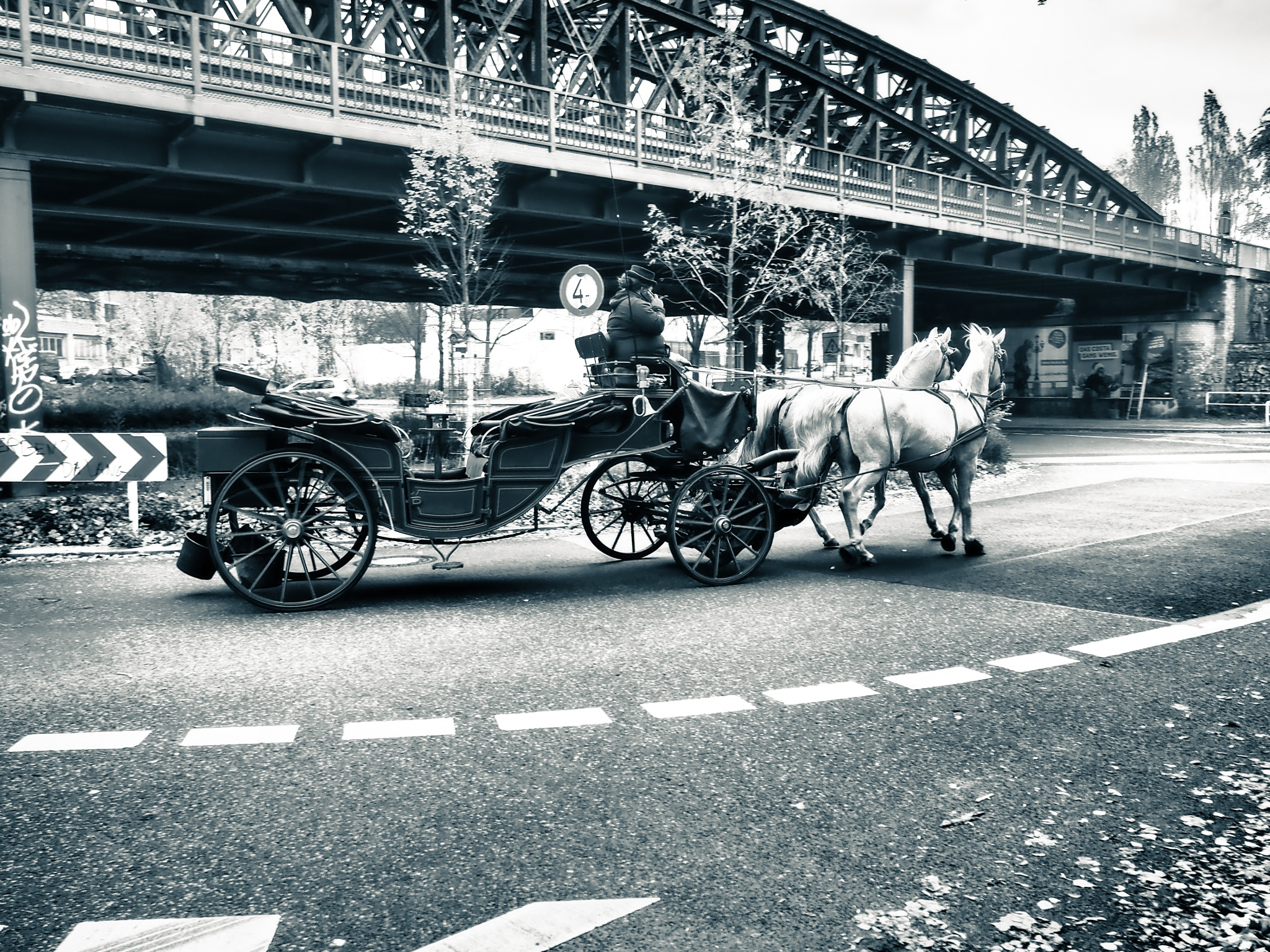 Berlin Streets Black & White by Jeans Brown Photography / Jens Schwarz