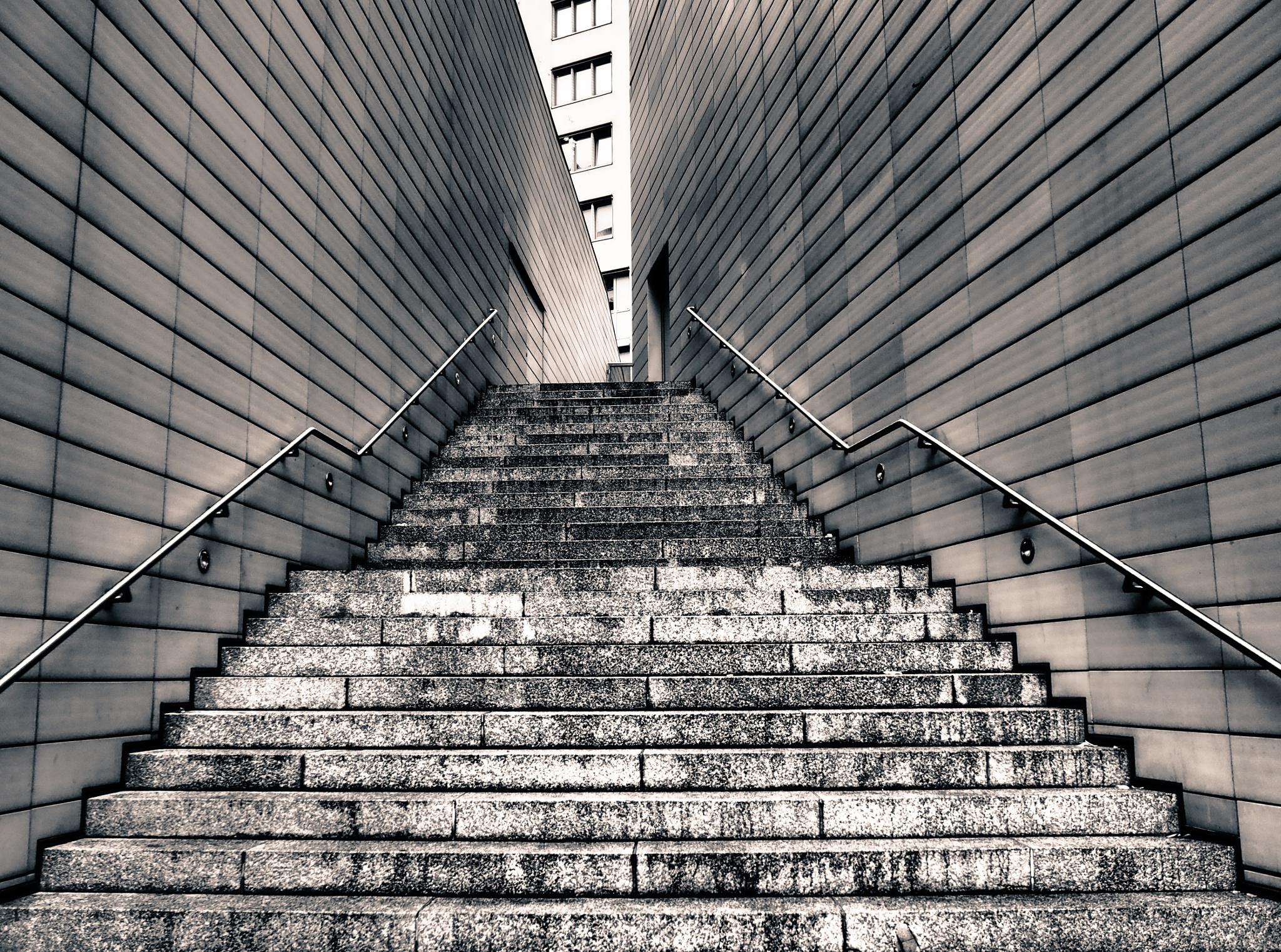 Berlin Potzdamer Platz Black & White by Jeans Brown Photography / Jens Schwarz