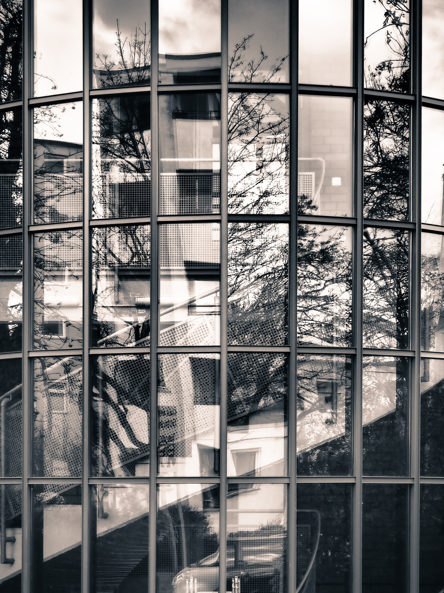 Berlin Window Black & White by Jeans Brown Photography / Jens Schwarz