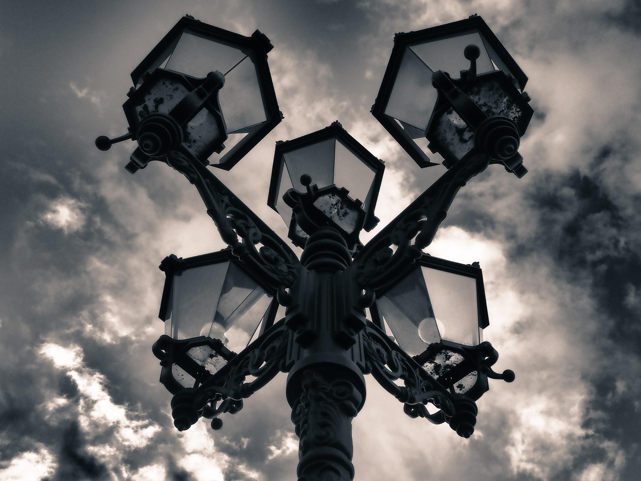 Berlin Lantern Black & White by Jeans Brown Photography / Jens Schwarz