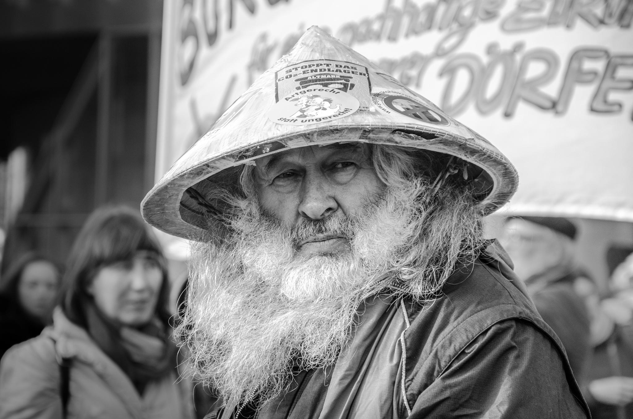 Demonstrator by Marianne Drews