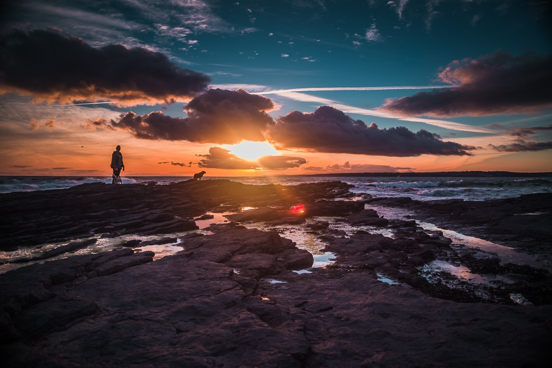 Setting Sun by Dwane Doran