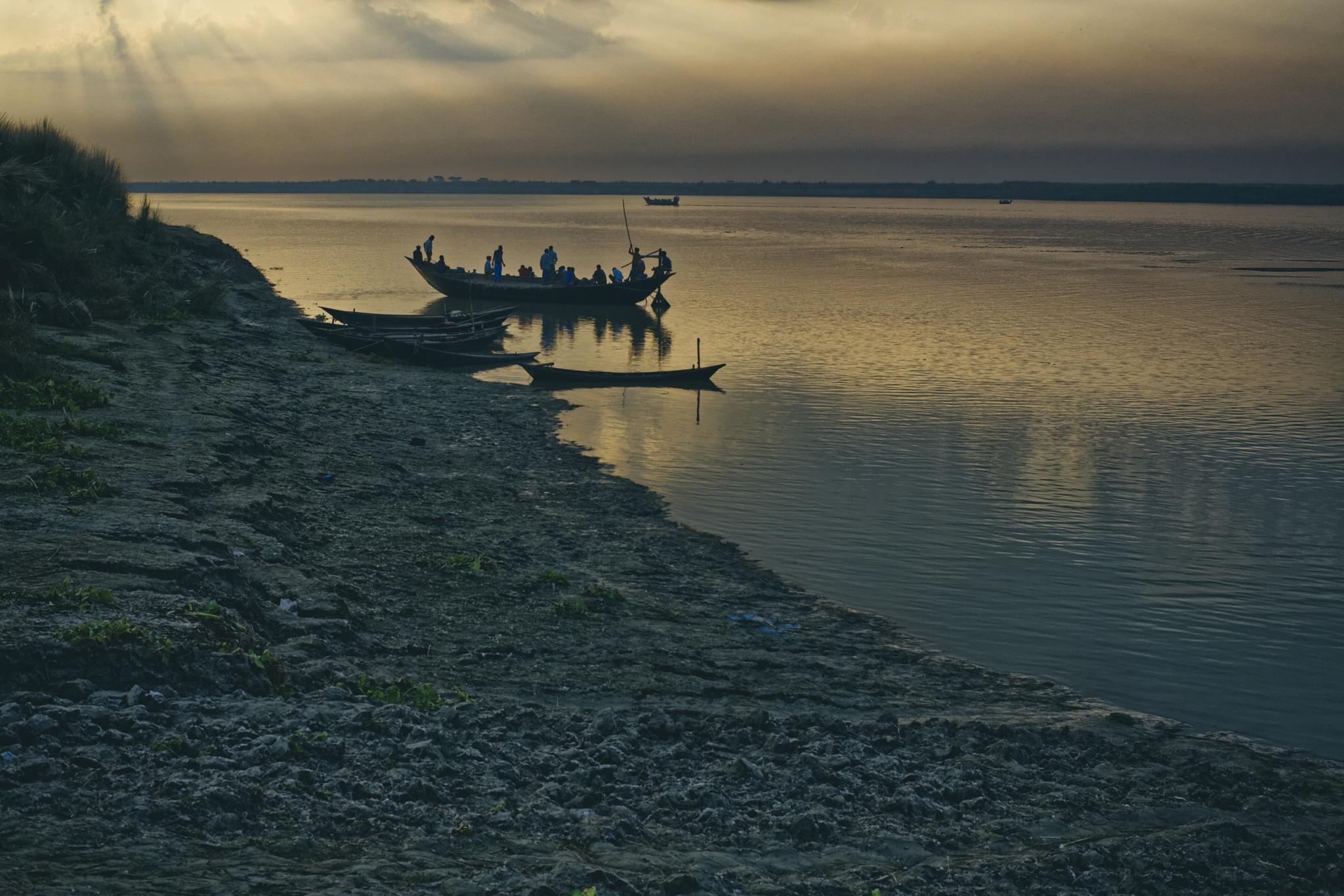 Moring at Padma River, Rajshahi 2013 by Arshad Ron