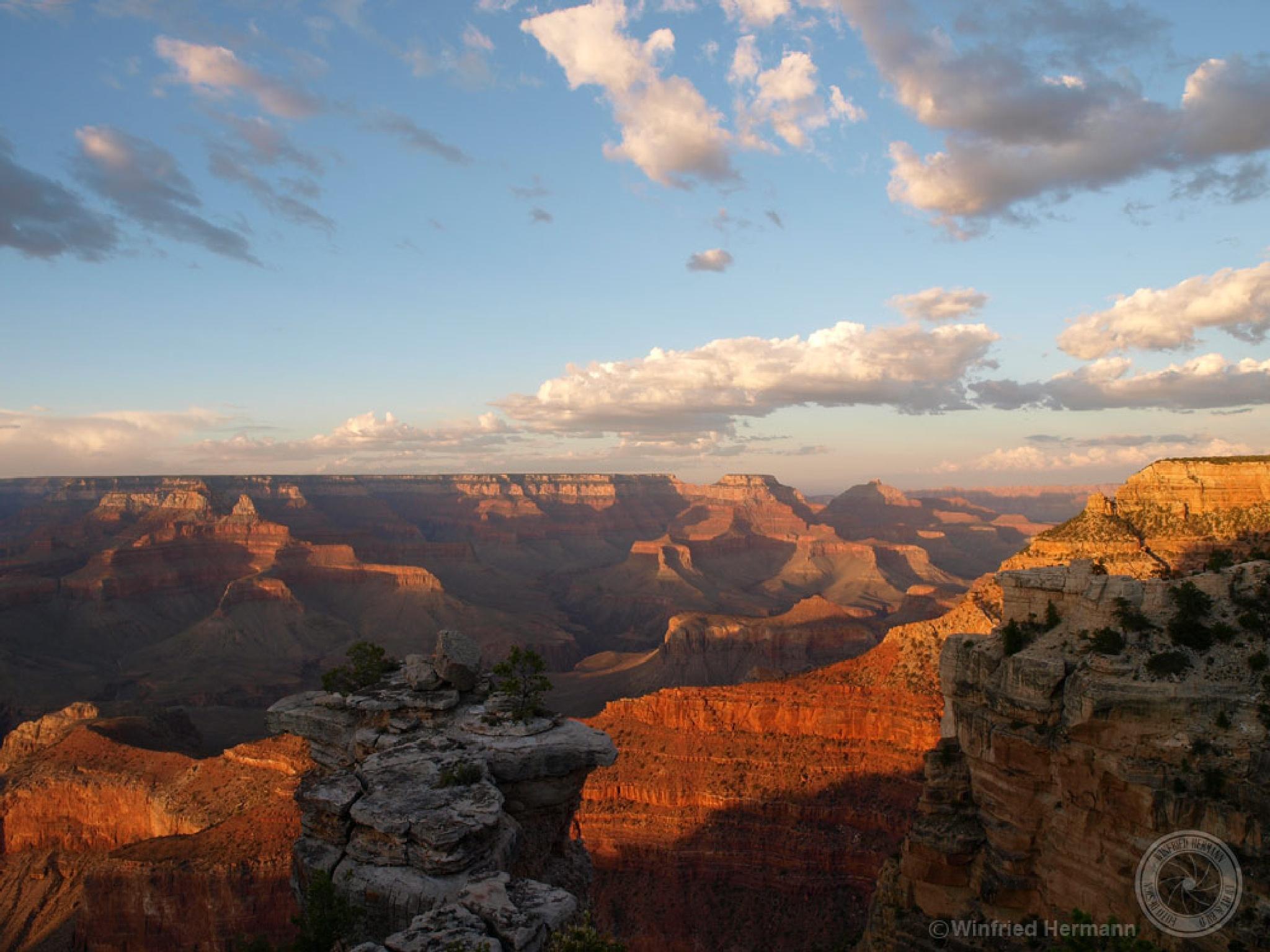 Grand Canyon Sunset by WinfriedHermann