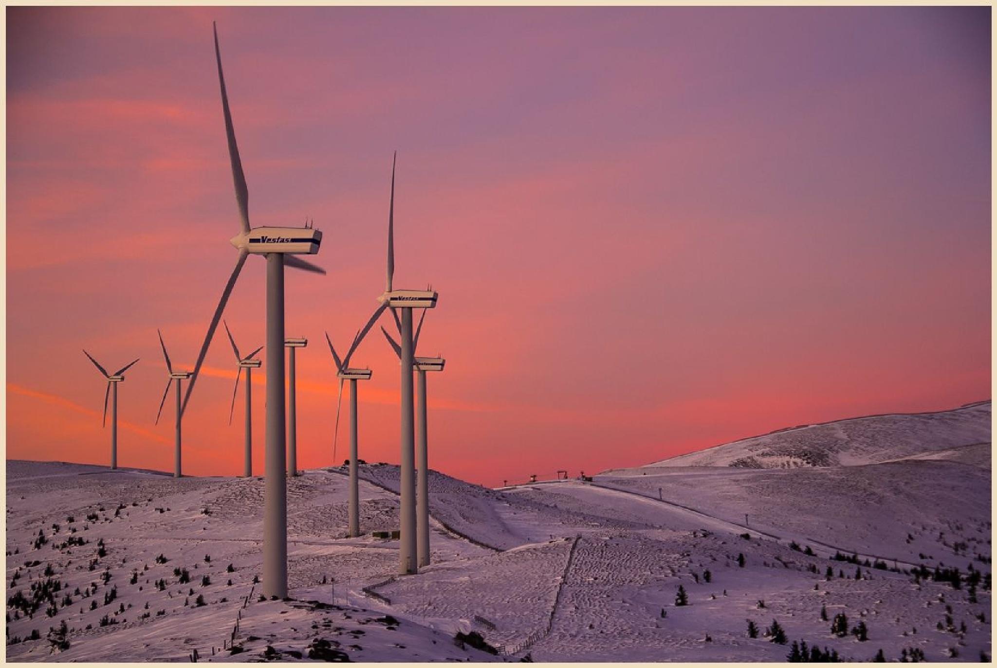 Windkraft by Traude Beren