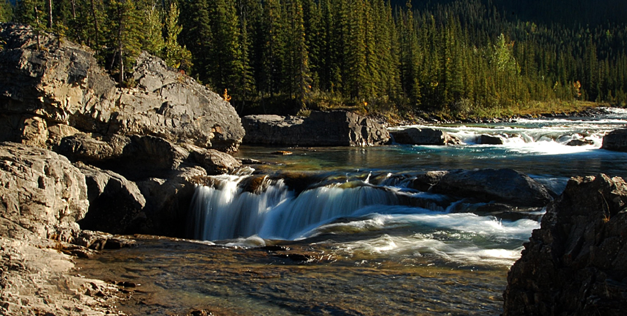 Elbow Falls by Our Great Escape