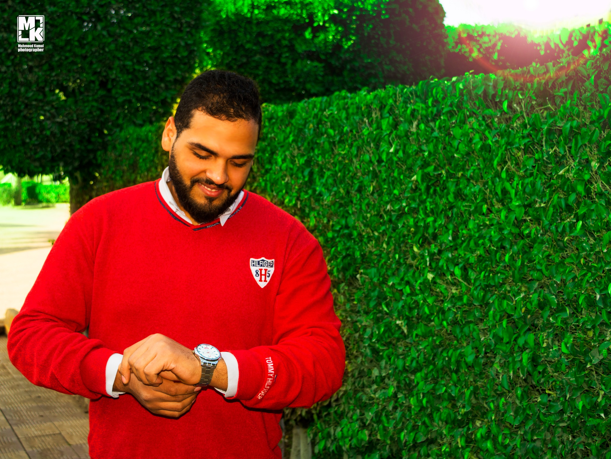 portrait ahmed wageeh by Mahmoud Kamal