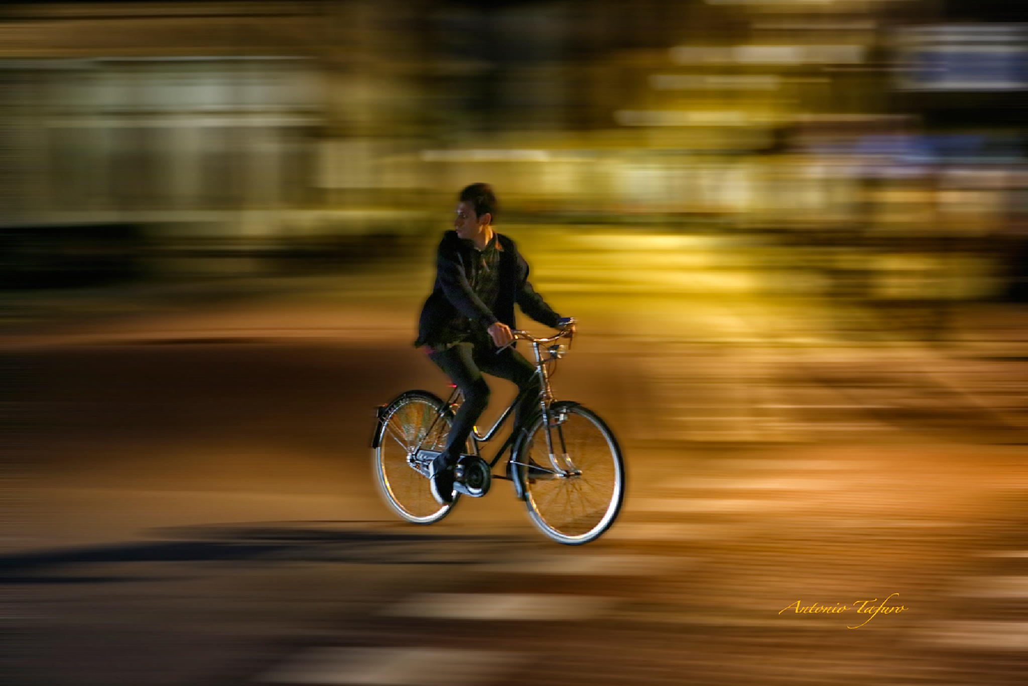 by bike by Antonio Tafuro