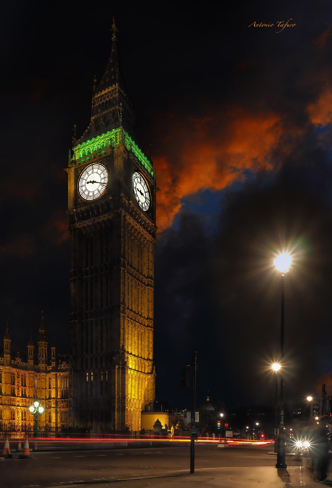 Big Ben by Antonio Tafuro