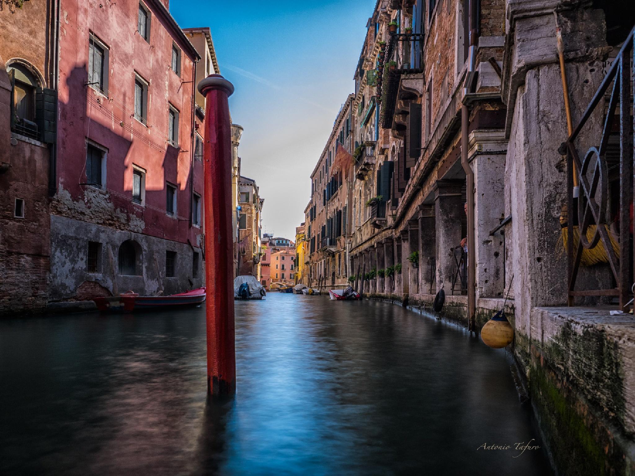 tra i canali by Antonio Tafuro