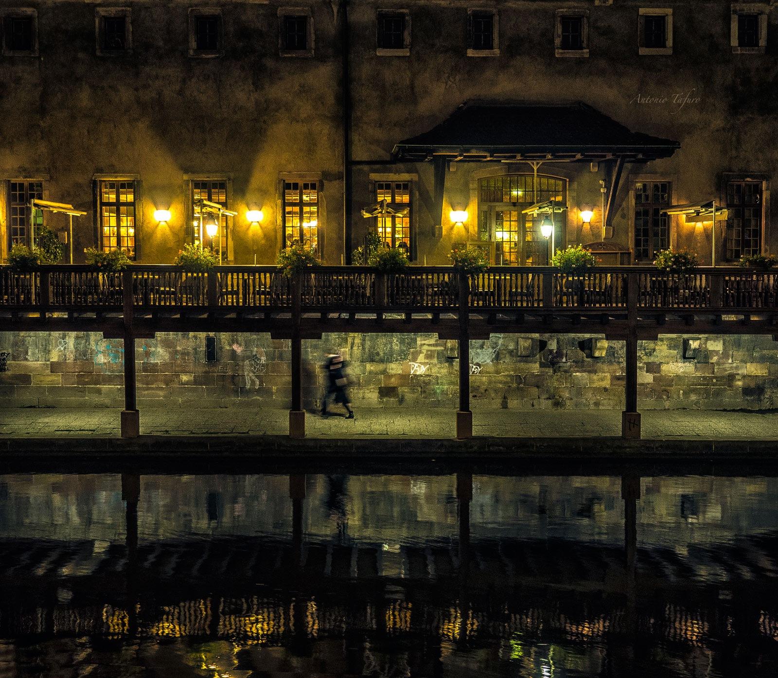 lights and shadows of the night by Antonio Tafuro