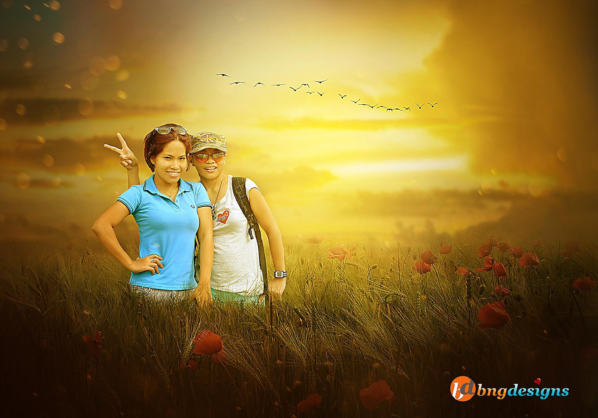 Photo Manipulation by Bing