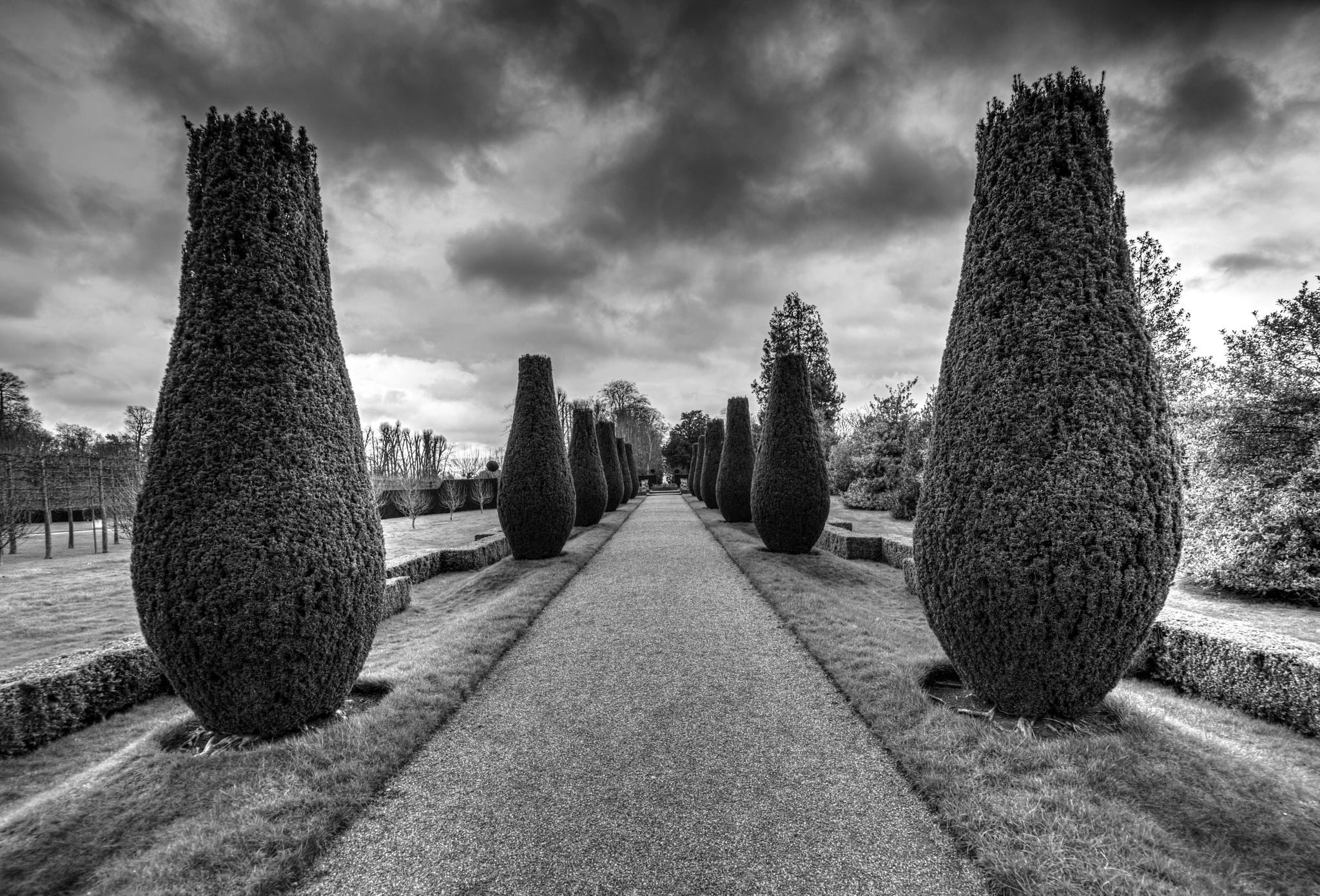 Chirk Castle Gardens by Paul Spear