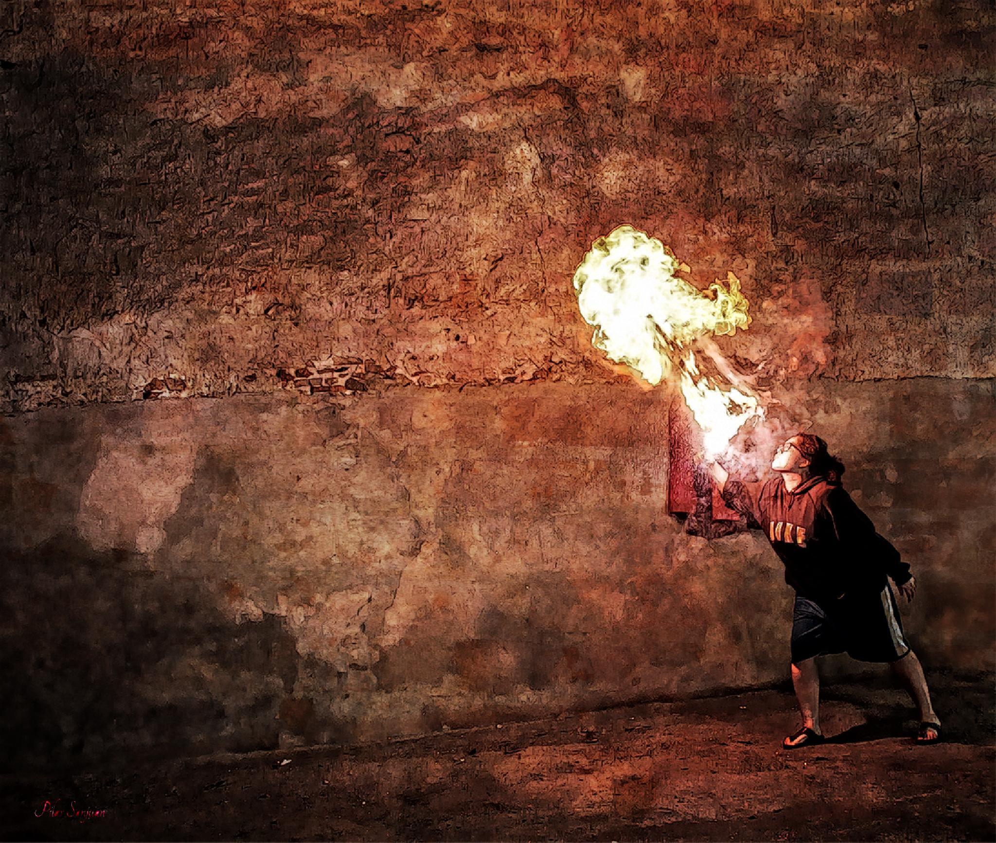 Dona de foc by Pilar